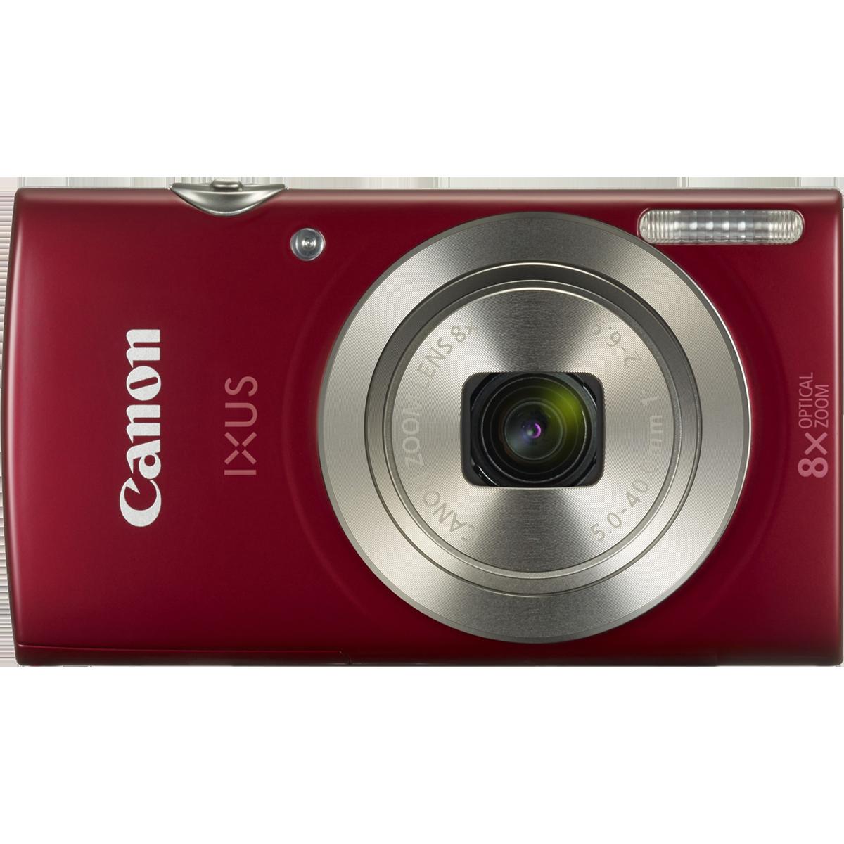 Canon 20 MP Point & Shoot Camera (IXUS 185, Red)_1