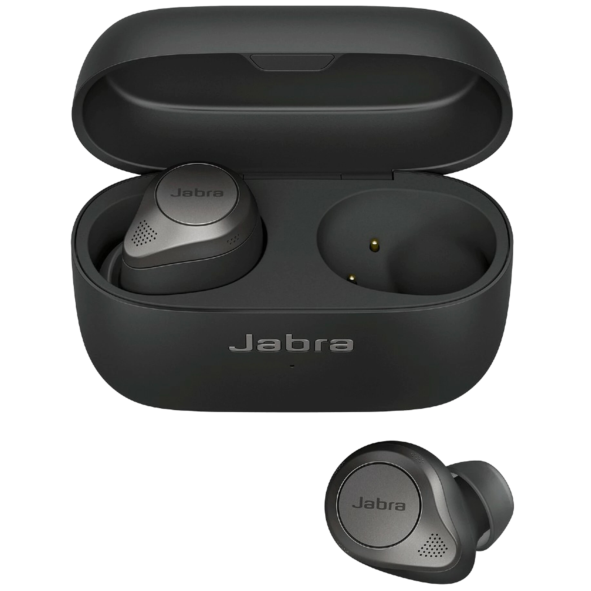 Jabra Elite 85t In-Ear Active Noise Cancellation Truly Wireless Earbuds with Mic (Bluetooth 5.1, Adjustable Sound, 100-99190000-40, Titanium Black)_1