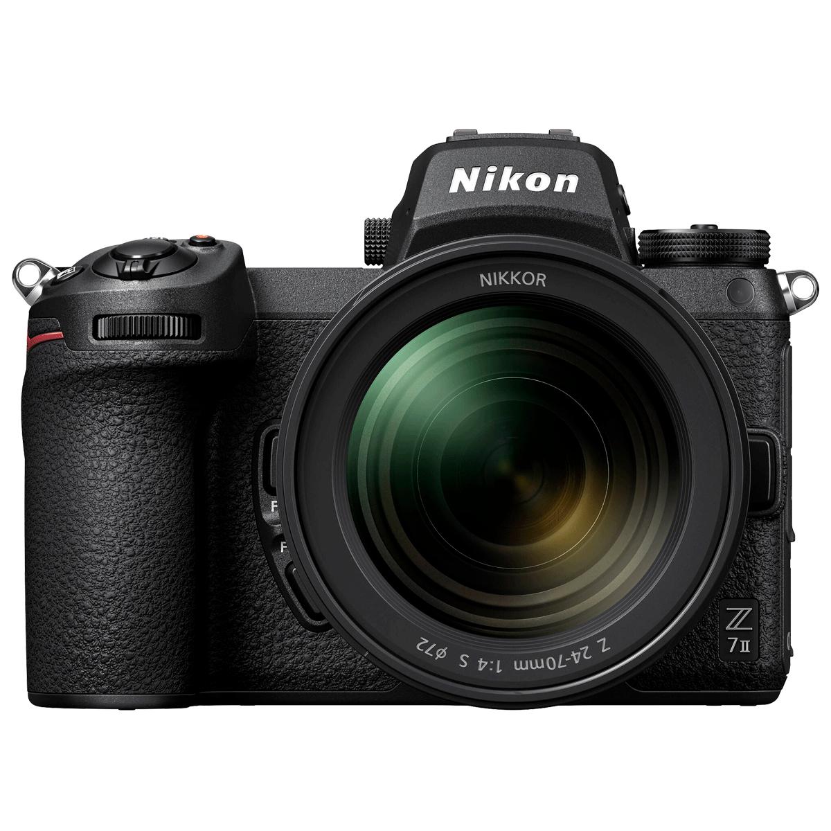 Nikon Z 7II 45.7MP Mirrorless Camera (24-70mm Lens, Dust-Reduction System, VOK070XN, Black)_1