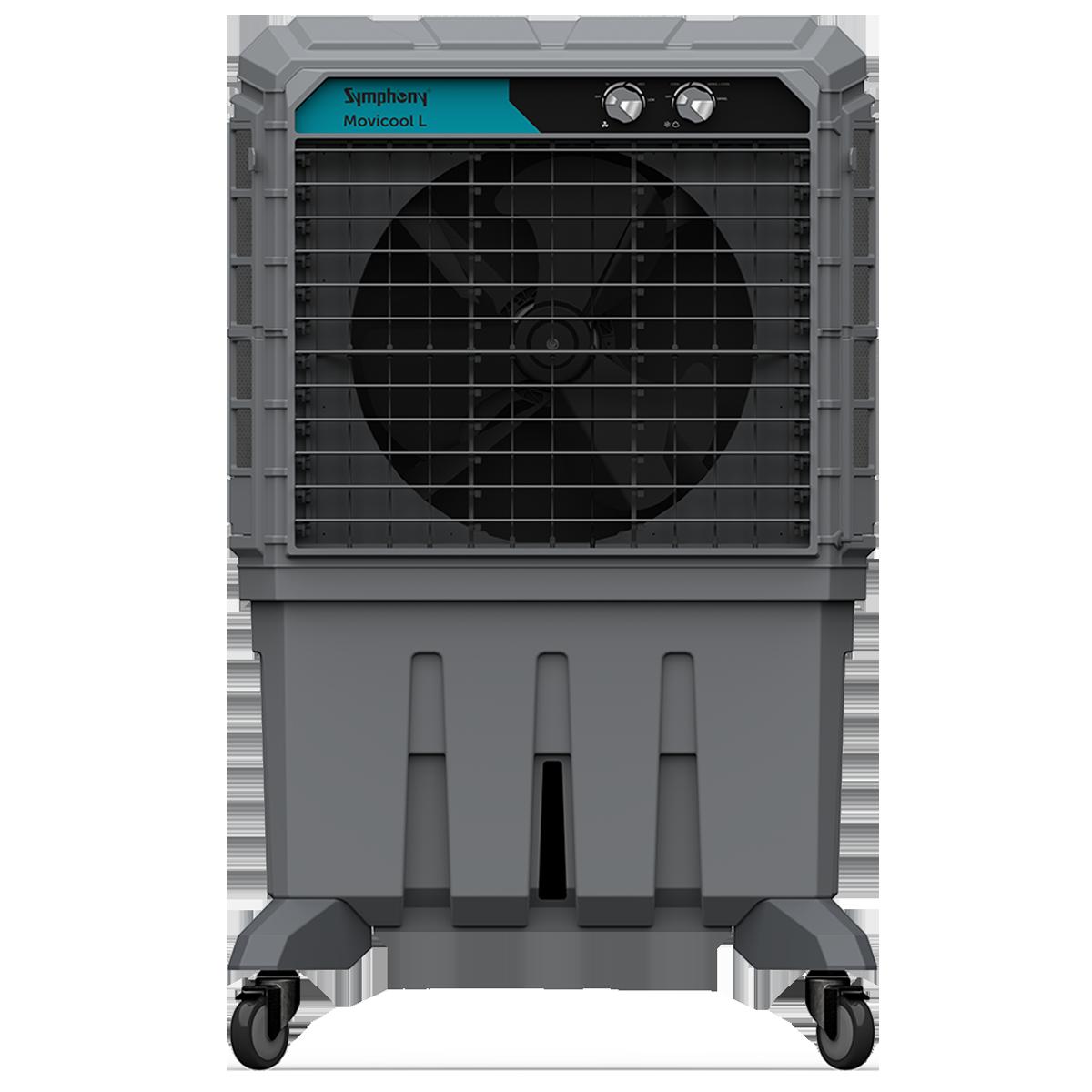 Symphony Movicool L125 125 Litres Room Air Cooler (Honeycomb Pad, ACOCO005, Dark Grey)_1