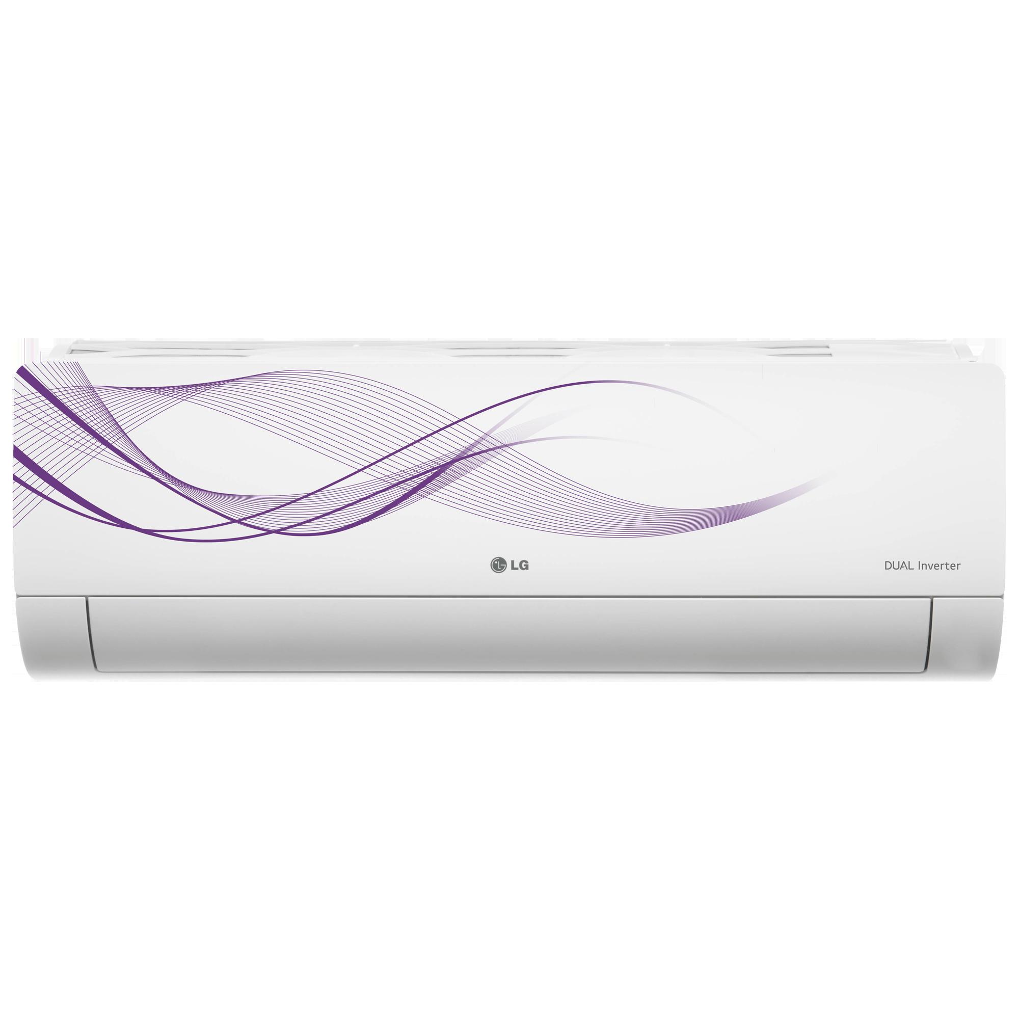 LG 1.5 Ton 5 Star Inverter Split AC (Air Purification Filter, Copper Condenser, MS-Q18WNZA, White)