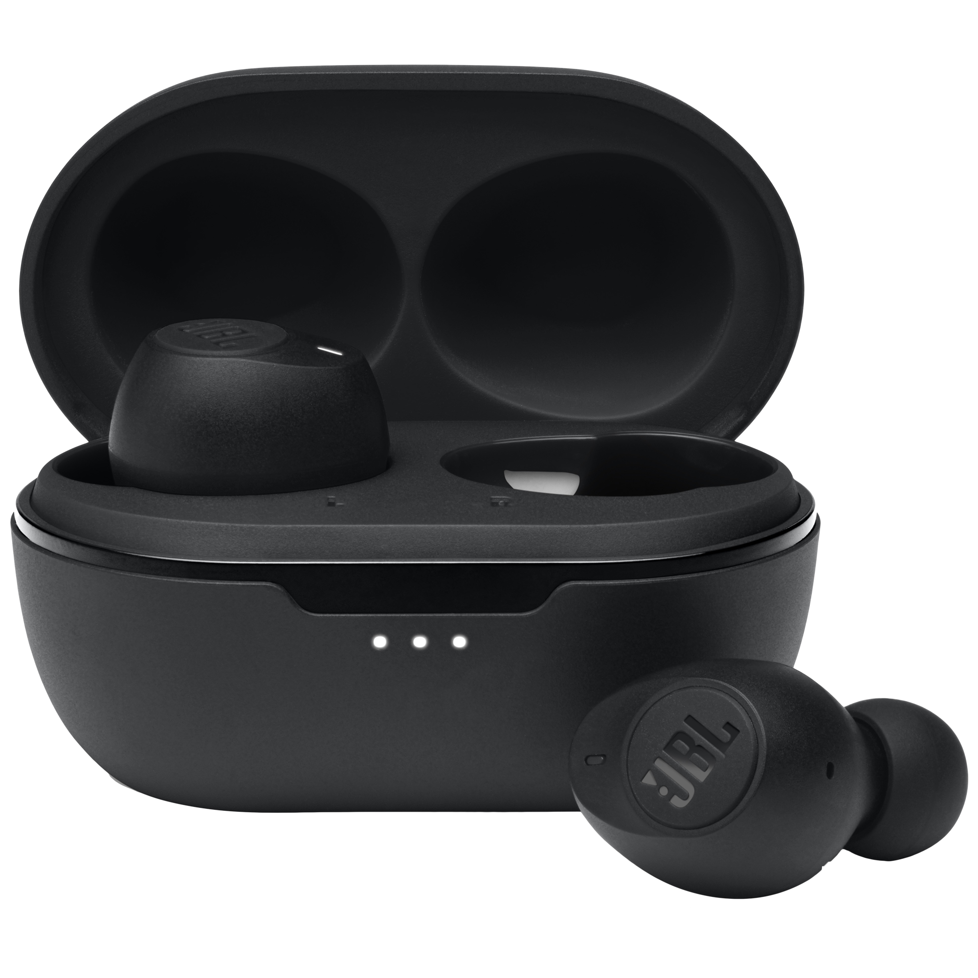 JBL Tune 115TWSIn-Ear Truly Wireless Earbuds with Mic (Bluetooth 5.0, Voice Assistant Supported, JBLT115TWSBLK, Black)_1