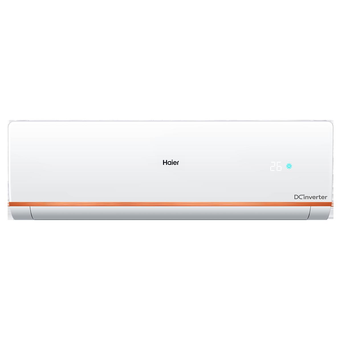 Haier CleanCool Kuadra 1 Ton 4 Star Inverter Split AC (2 Row Copper Tube Condenser, HSU12C-TCB4B(INV), White)_1