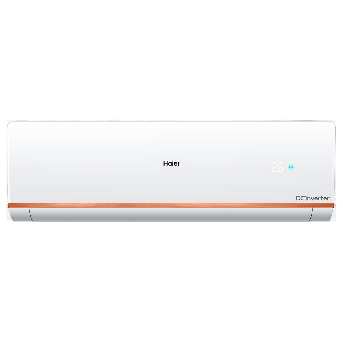 Haier CleanCool Kuadra 1.5 Ton 4 Star Inverter Split AC (2 Row Copper Tube Condenser, HSU18C-NCB4B(INV), White)