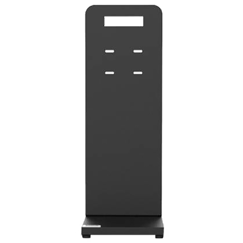 Hi-Genie Sanitizing Device Stand (Sleek and Ergonomic Design, HG-012, Black)_1