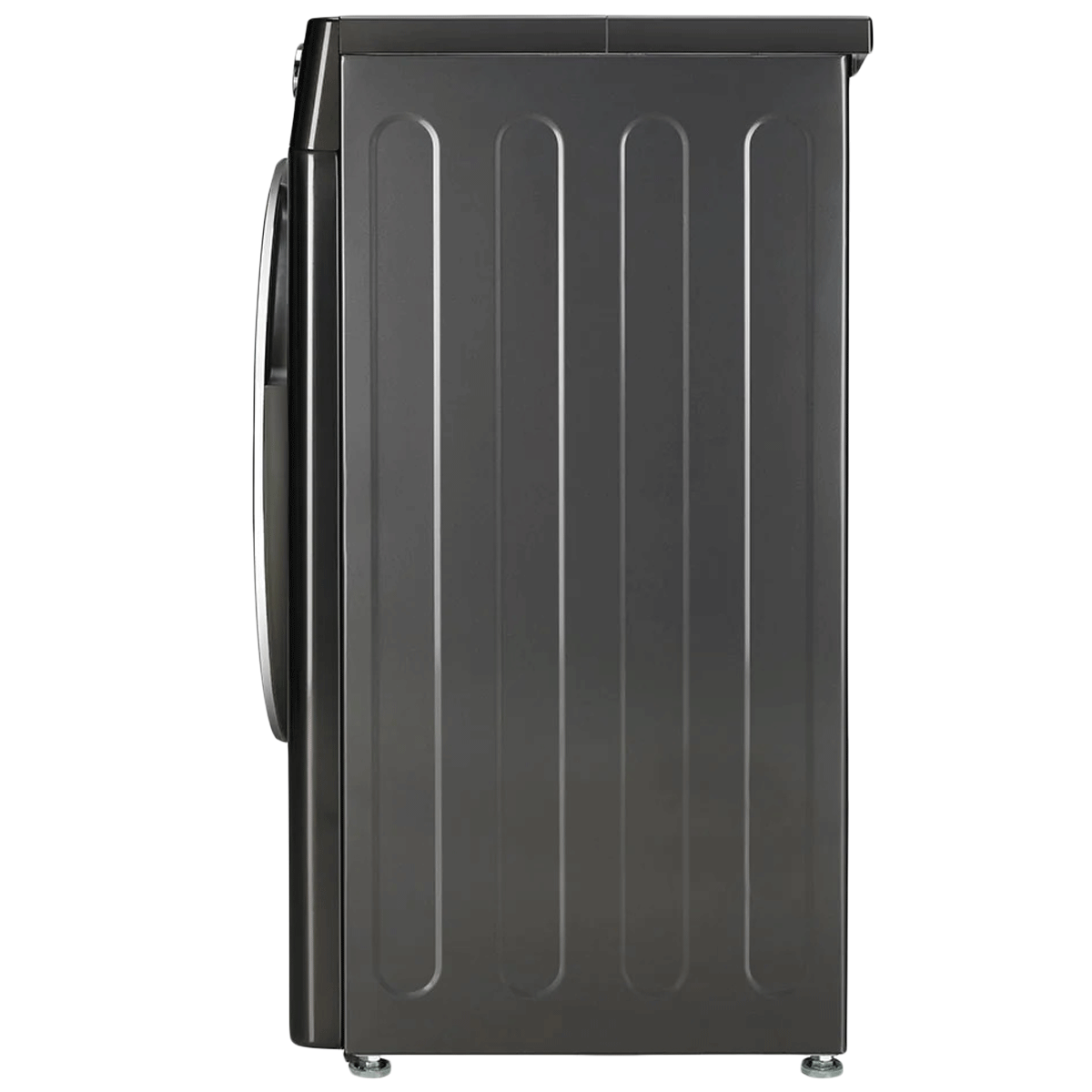 LG 7 kg 5 Star Fully Automatic Front Load Washing Machine (AI Direct Drive Technology, FHV1207ZWB, Black Steel) 10