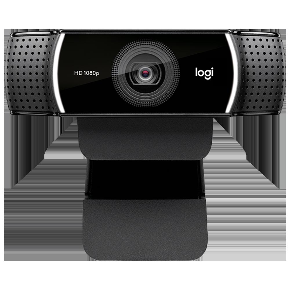 Logitech C922 Pro USB 1080p Web Cam (Automatic Low Light Correction, 960-001090, Black)_1