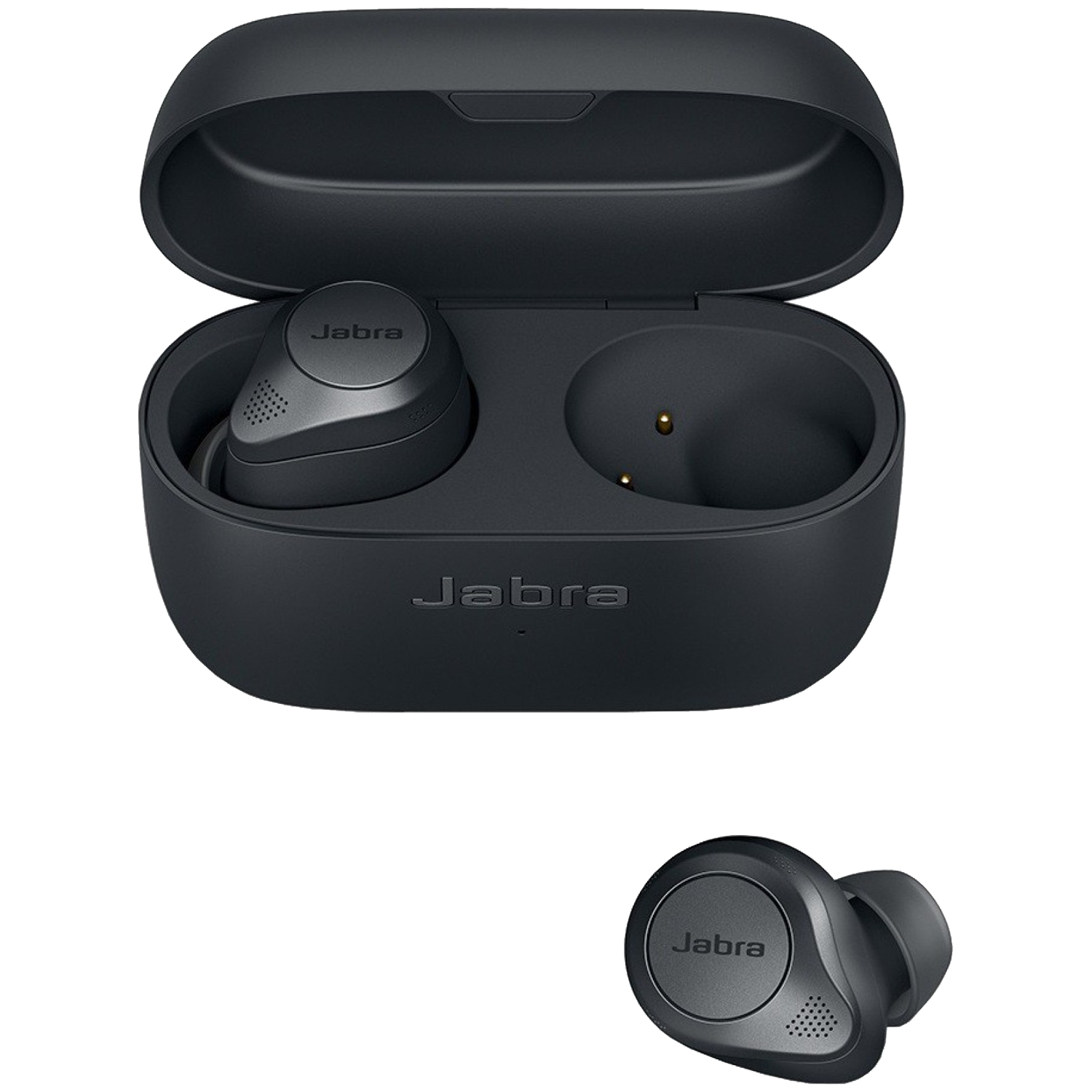 Jabra Elite 85t In-Ear Active Noise-Cancellation Truly Wireless Earbuds with Mic (Bluetooth 5.1, Adjustable Sound, 100-99190003-40, Grey)_1