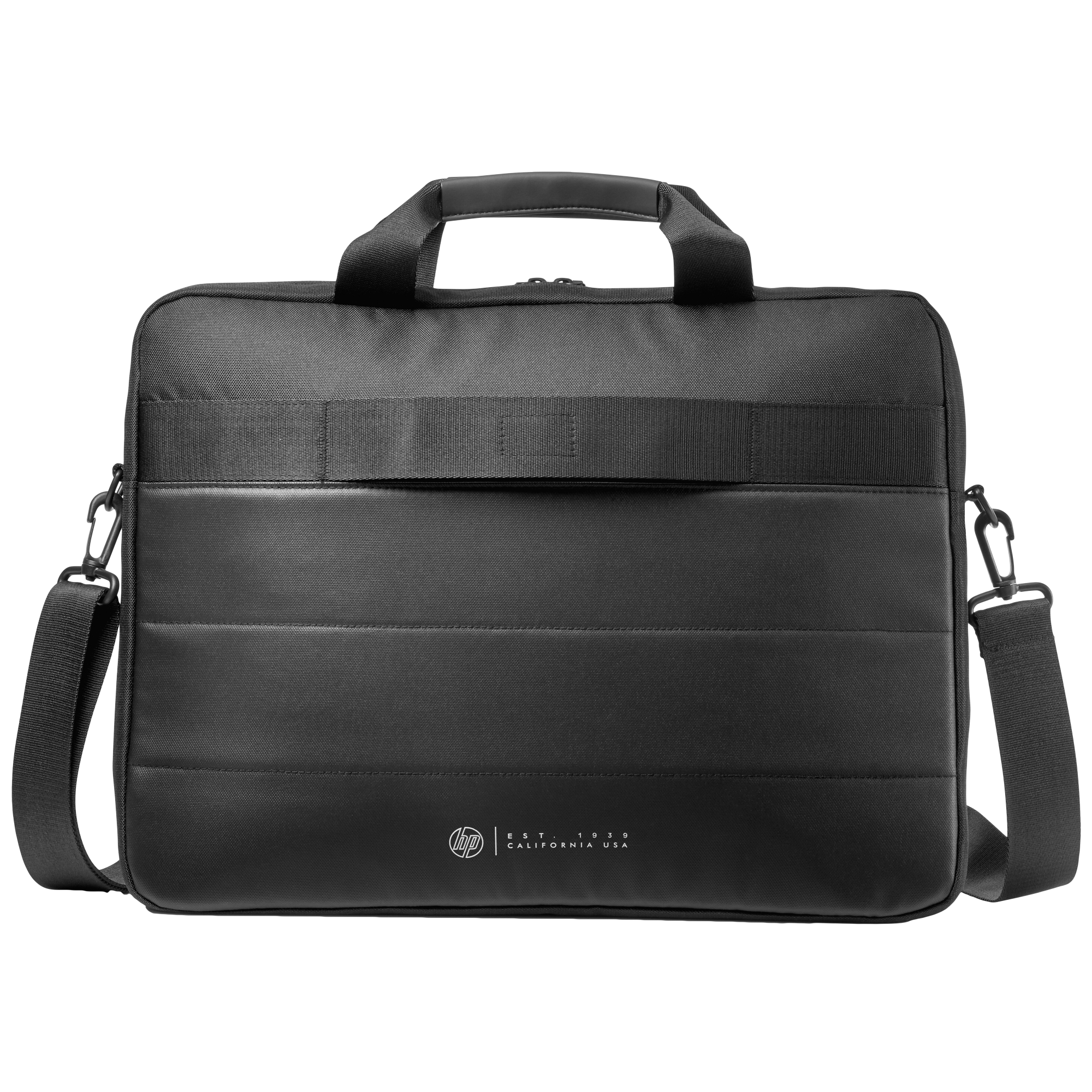HP Classic 18 Litres Nylon Briefcase for 15.6 Inch Laptop (Water Resistant, 1FK07AA, Black)_1