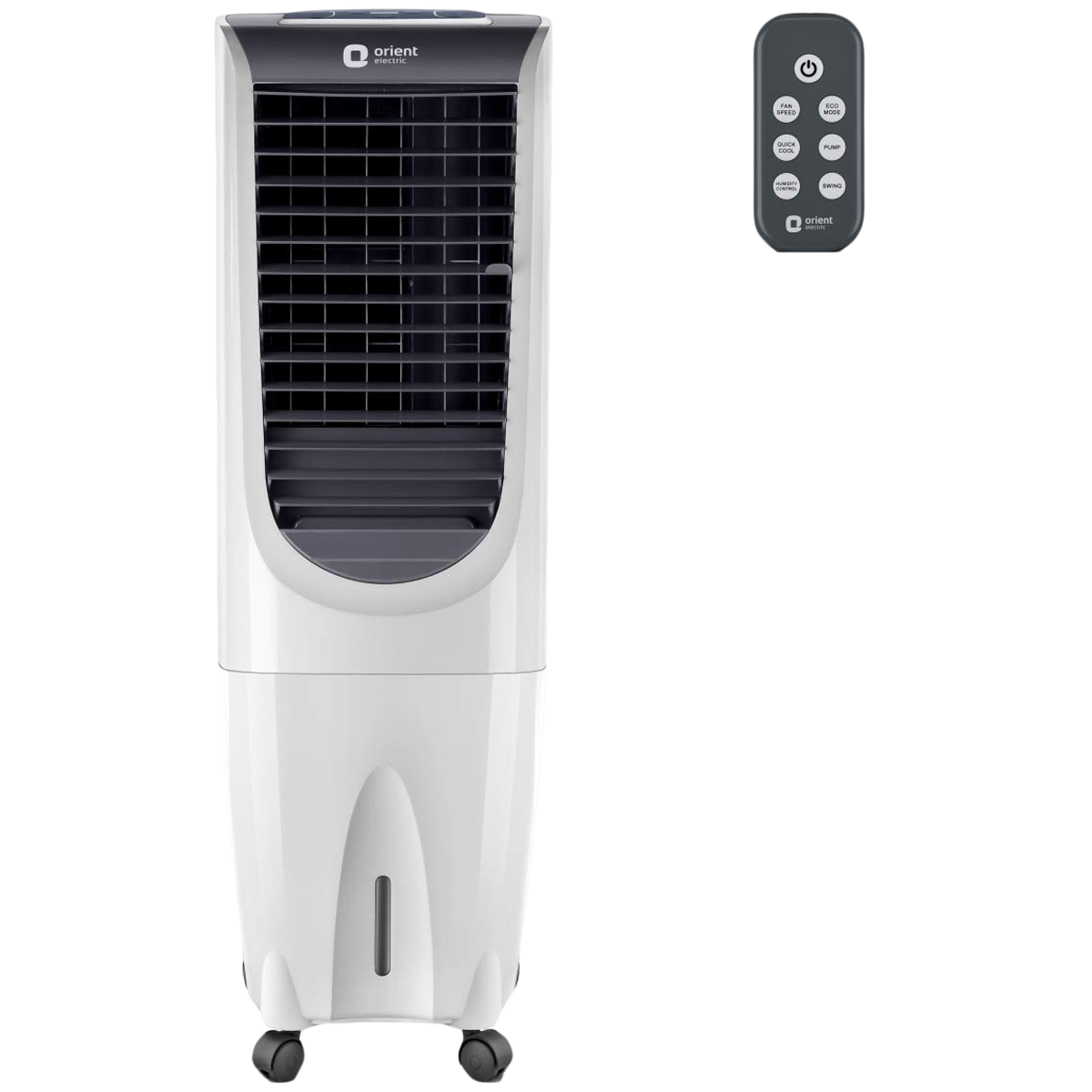 Orient Ultimo Tower 26 Litres Tower Air Cooler (Prevents Mosquito Breeding, CT2604HR, White)_1