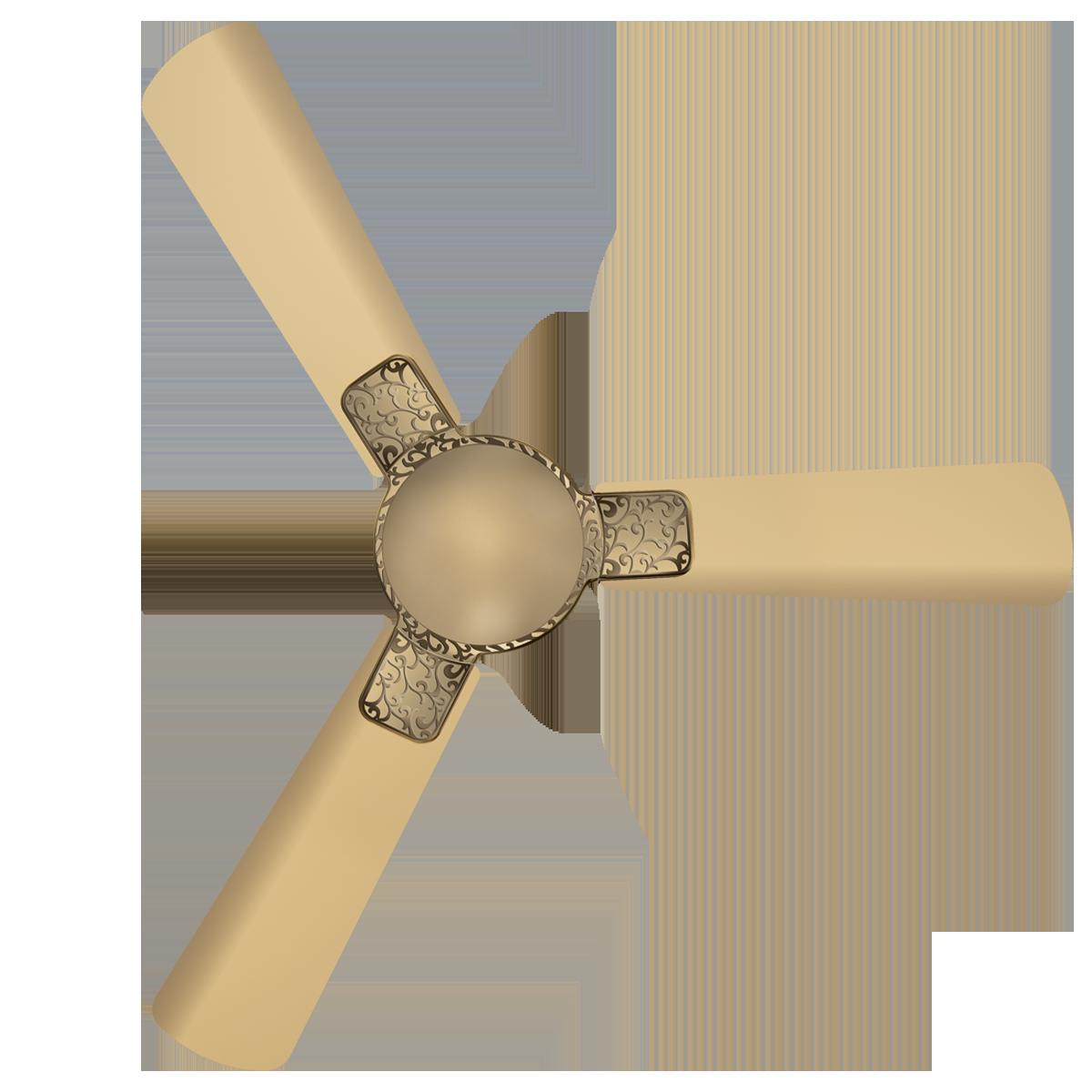 Havells Enticer Art Aafreen 120cm Sweep 3 Blade Ceiling Fan (Dust Resistant, FHCETSTBEG48, Beige)_1