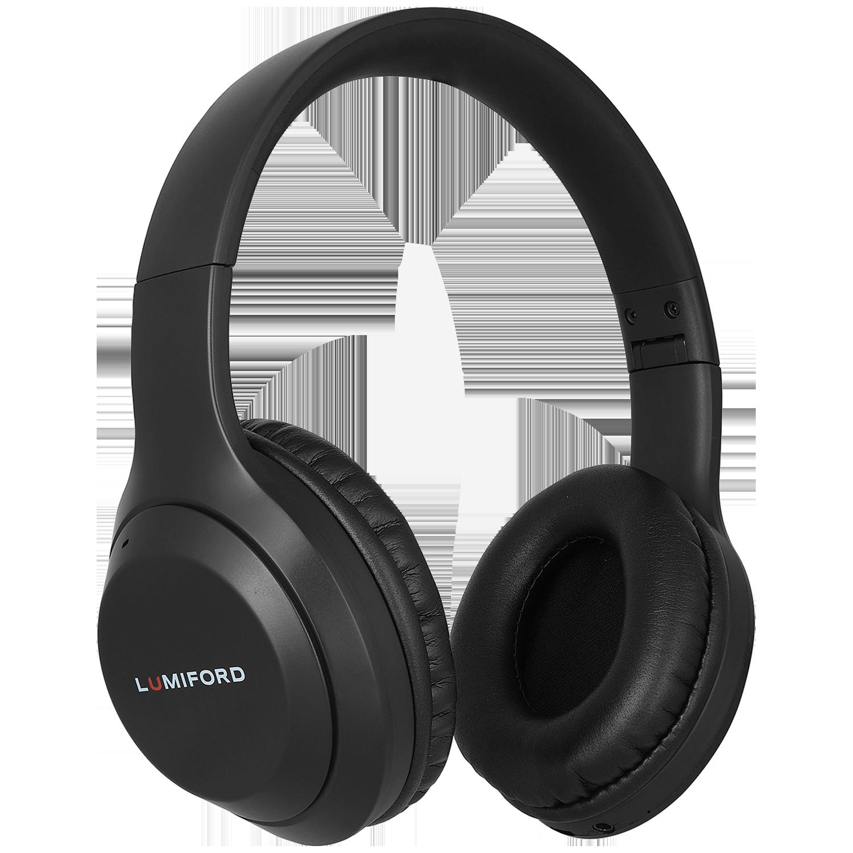 Lumiford LongDriveHD Over-Ear Wireless Headphone with Mic (Bluetooth 5.0, Dual Phone Pairing Technology, HD50, Black)_1