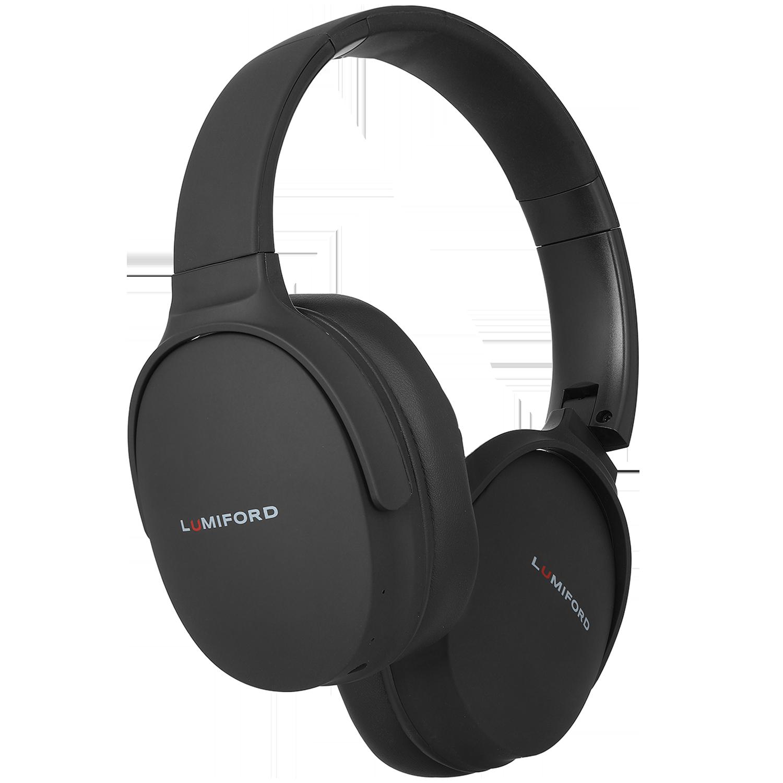 Lumiford LongDriveHD Over-Ear Wireless Headphone with Mic (Bluetooth 5.0, Dual Phone Pairing Technology, HD70, Black)_1