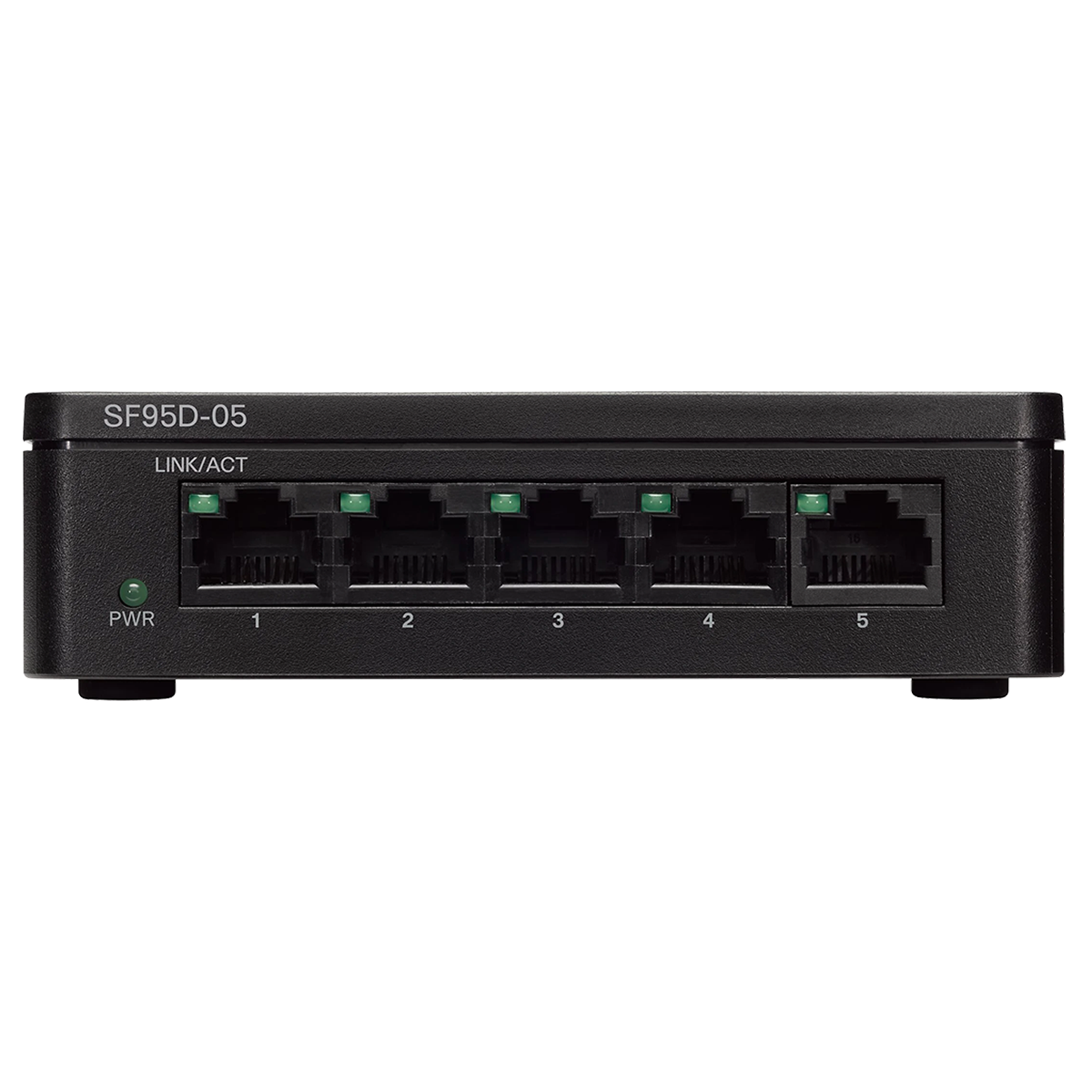 Cisco 95 Series Unmanaged Switch (Affordable 10/100/1000-Mbps Speeds, SF95D-05-IN, Black)_1