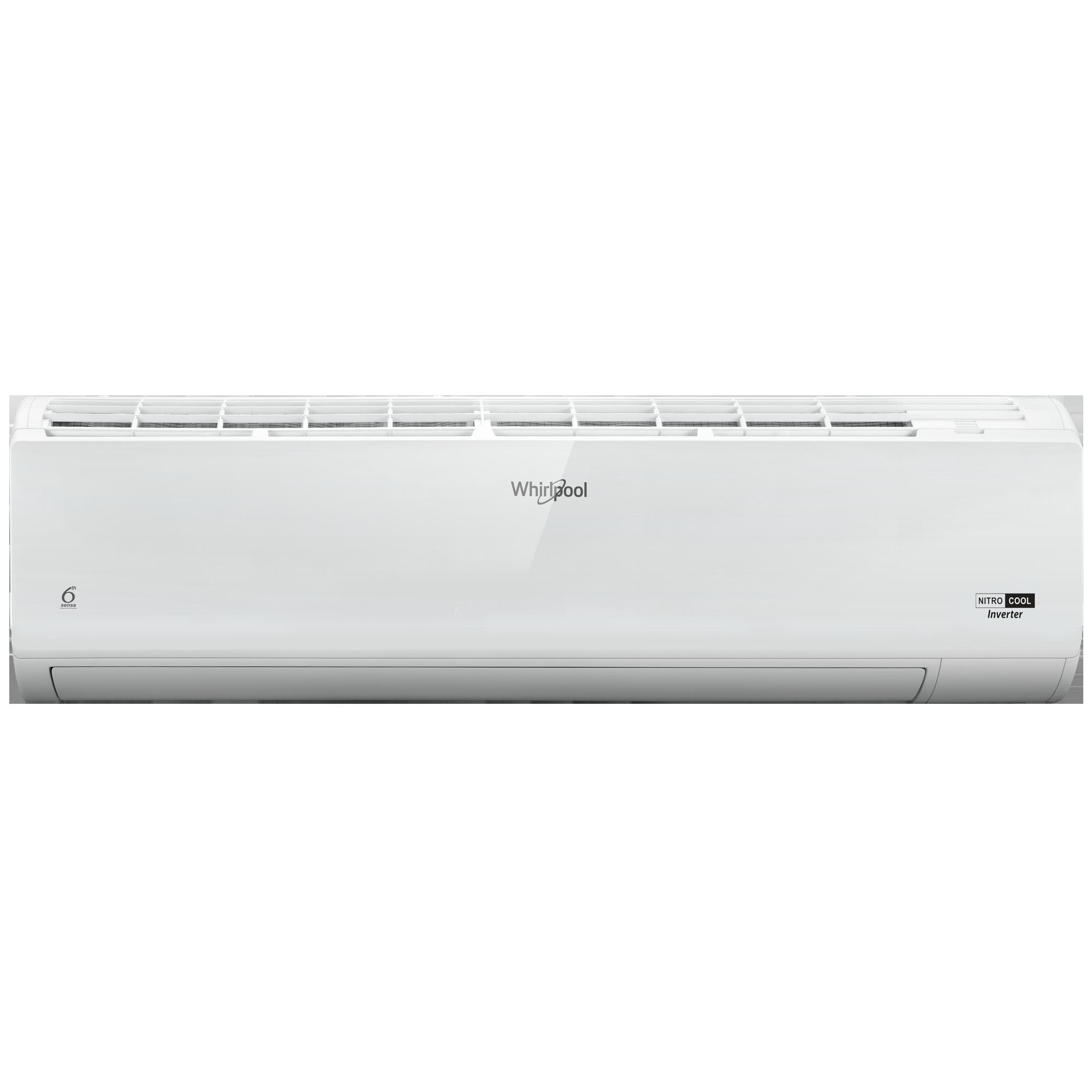 Whirlpool Nitrocool 1 Ton 3 Star Inverter Split AC (4-in-1 Convertible, Copper Condenser, SAI12B31N0D, White)_1