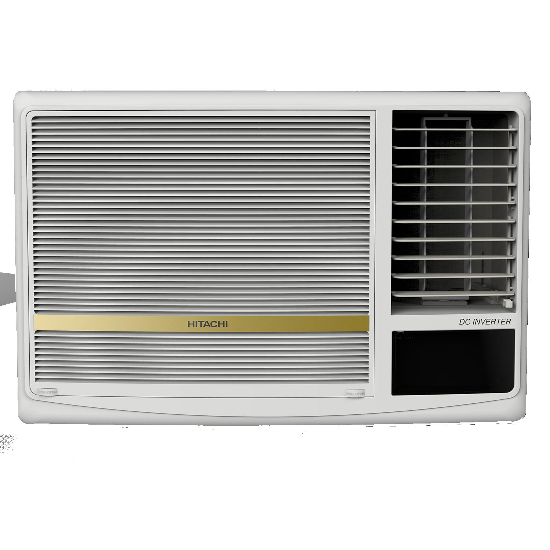 Hitachi SHIZUKA 1.5 Ton 3 Star Inverter Window AC (Copper Condenser, RAW318HDEA, White)_1