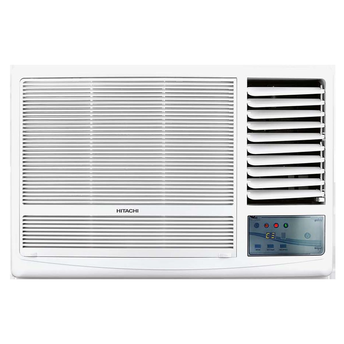 Hitachi Kaze Plus 1.5 Ton 3 Star Window AC (Copper Condenser, RAW318HEDO, White)_1