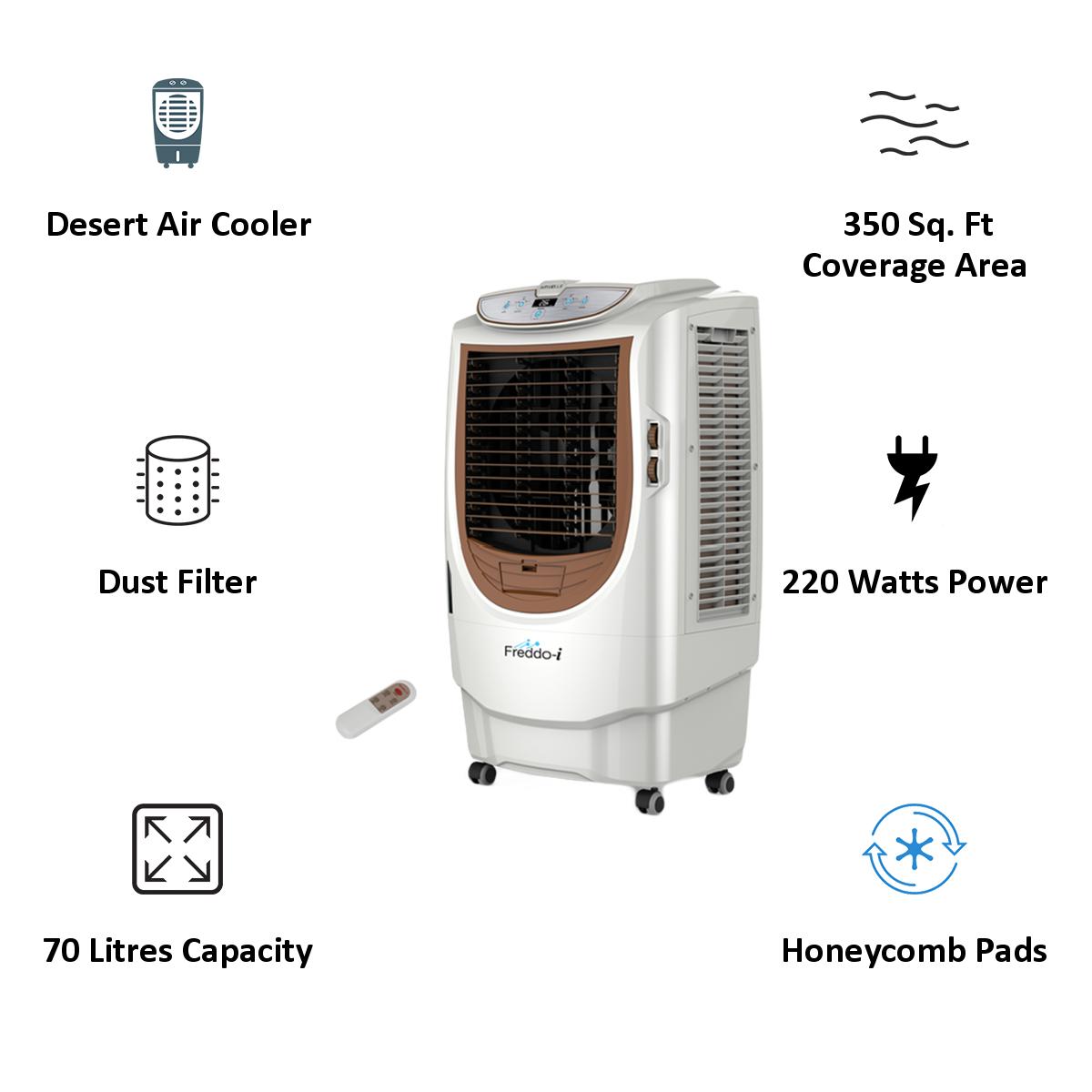 Havells 70 Litres Desert Air Cooler (Freddo I, White)_3