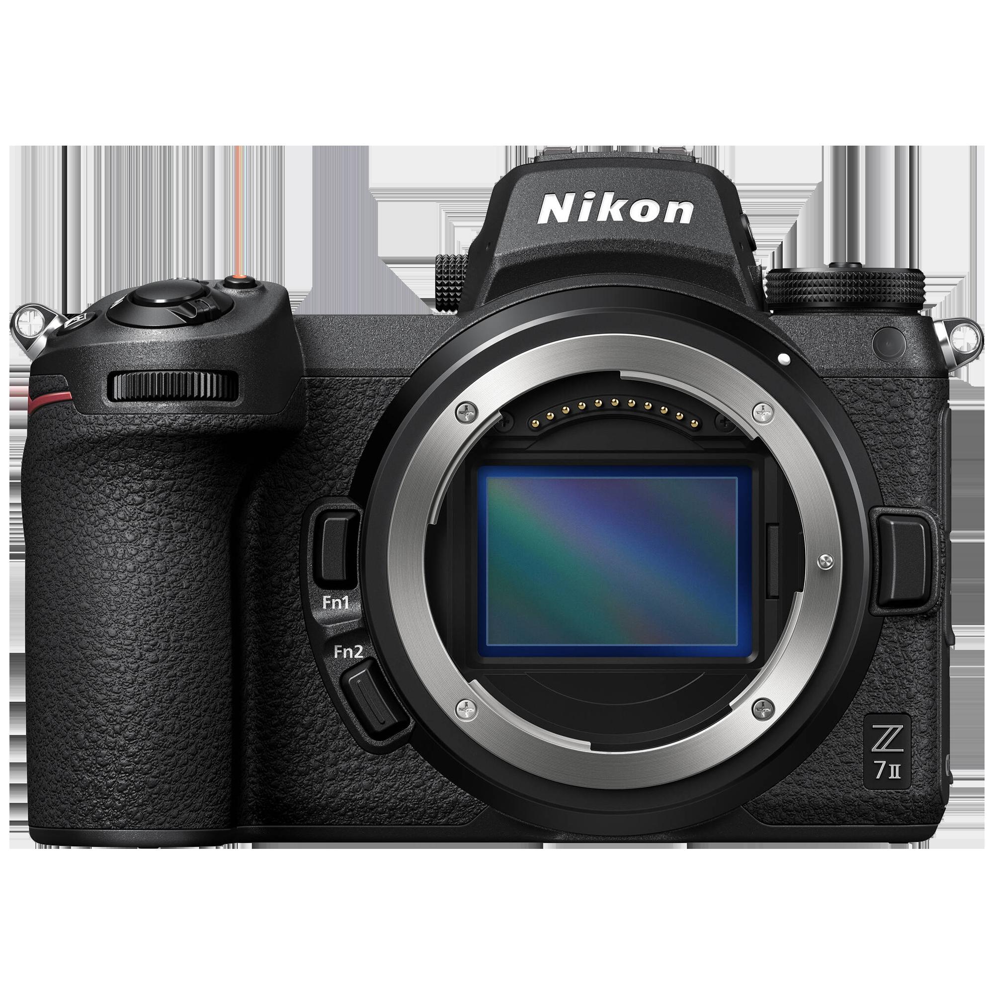 Nikon Z 7II 45.7MP Mirrorless Camera Body (Dust-Reduction System, VOA070AN, Black)_1
