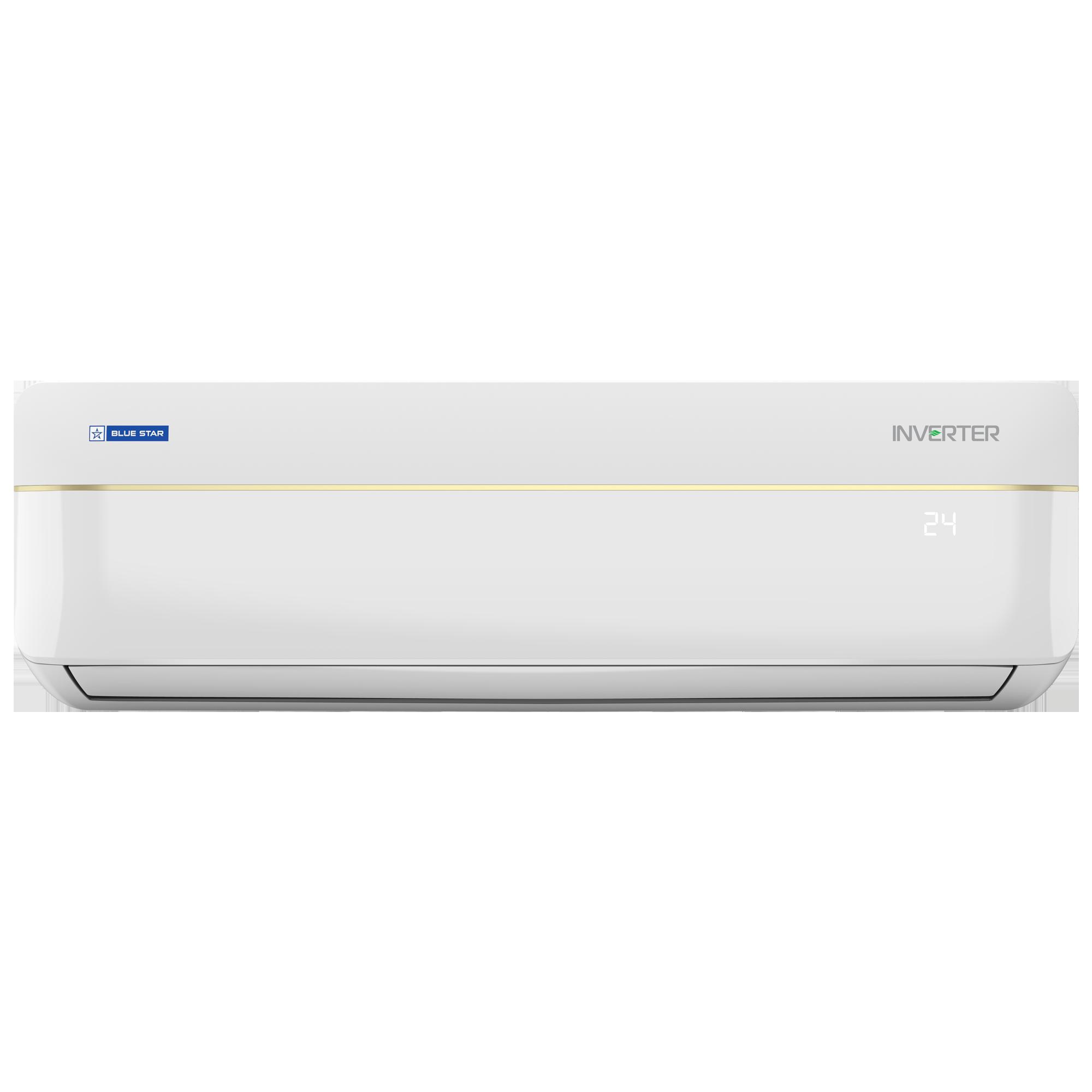 Blue Star VL LV 1.5 Ton 3 Star Inverter Split AC (Air Purification Function, Copper Condenser, IC318VLTULV, White)_1