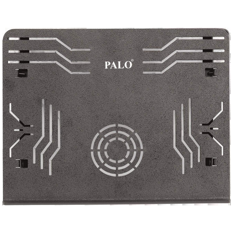 Palo PALO019 Laptop Stand For Laptop (Multi Angle Adjustable, Black)_1