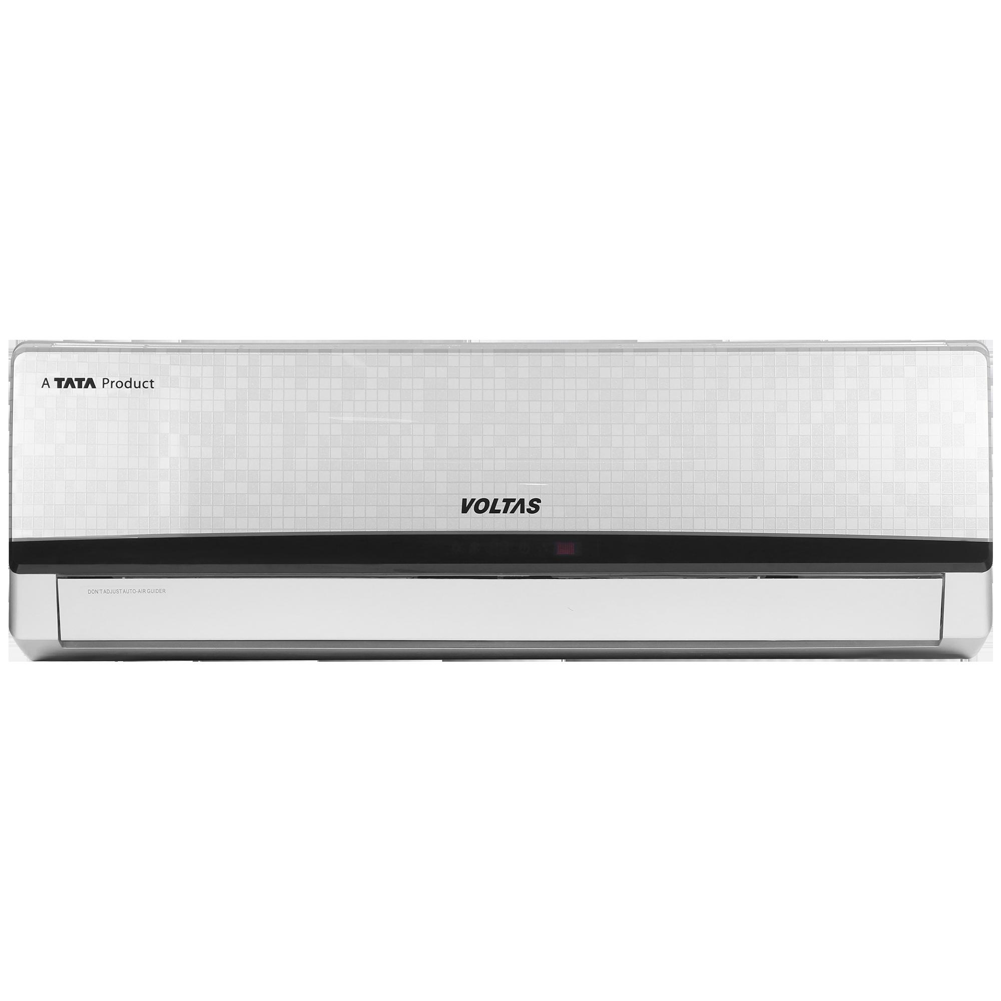 Voltas 1.5 Ton 5 Star Inverter Split AC (Adjustable AC, Copper Condenser, 185V MZY-IMS, Silver)_1