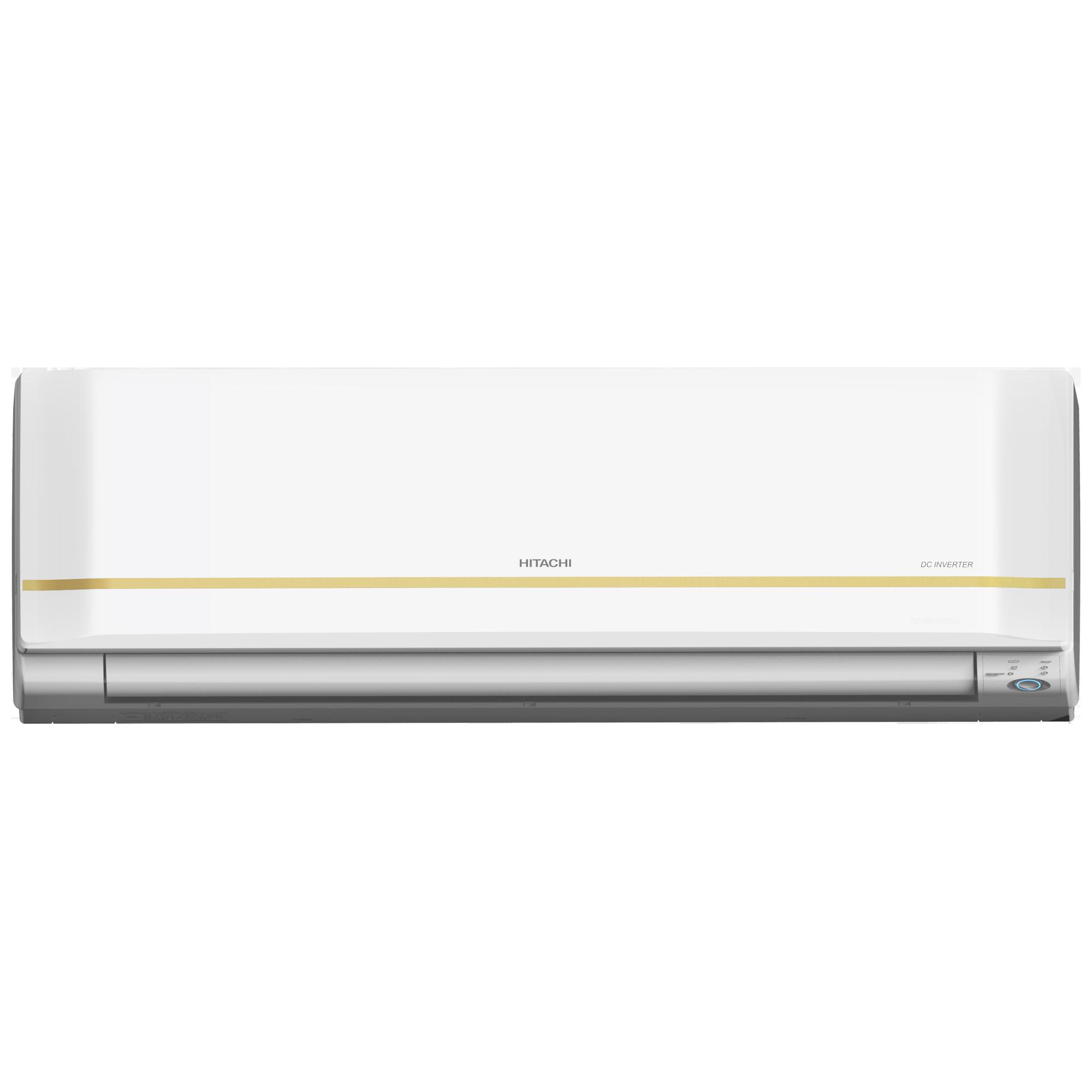 Hitachi Kiyora 5300X I-Clean 2 Ton 5 Star Inverter Split AC (Copper Condenser, RMRG524IEEA, White)_1