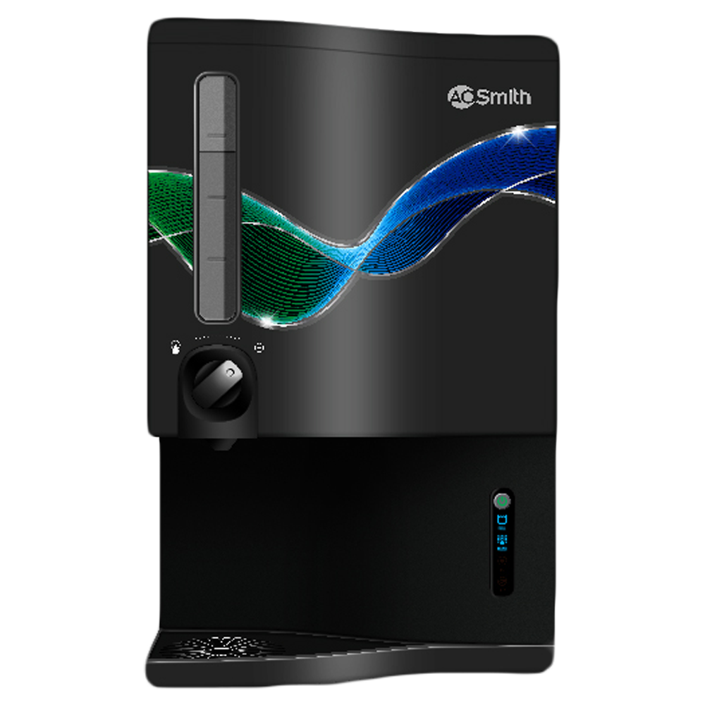 A. O. Smith ProPlanet P5 RO + SCMT Electrical Water Purifier (8 Stage Purification Process, IGR009081RPBNN5, Black)