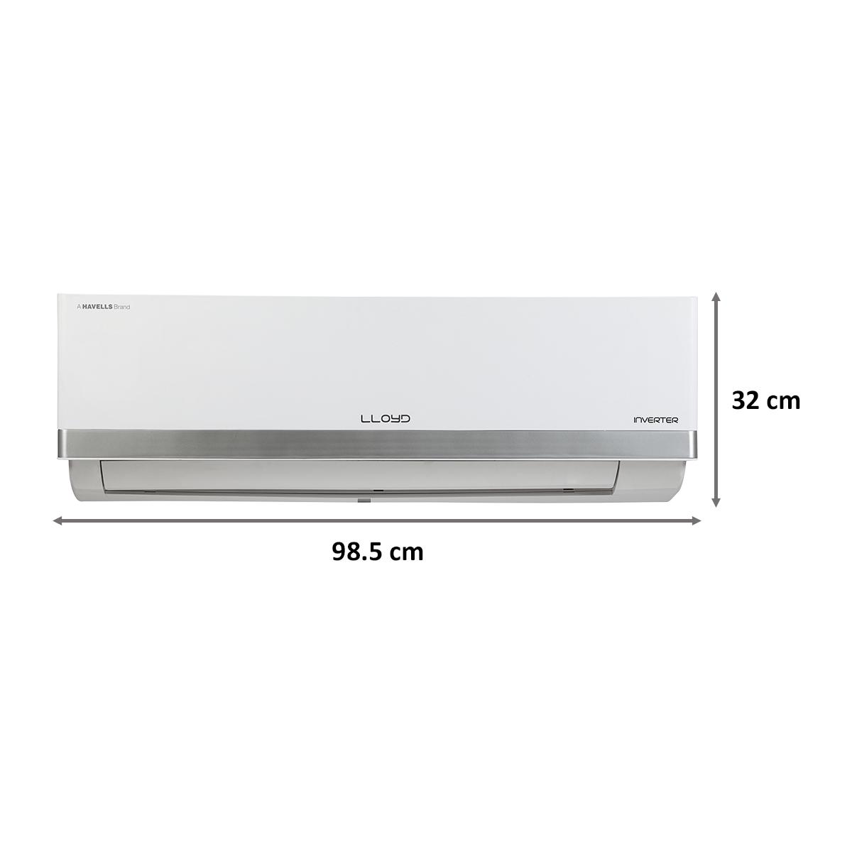 Lloyd BP 1.5 Ton 3 Star Inverter Split AC (Copper Condenser, GLS18I36WSBP, White)_3