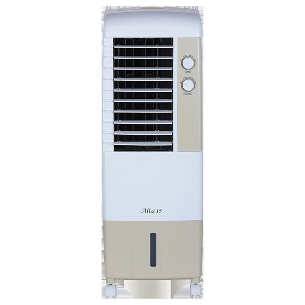 Kenstar Alta 15 Litres Tower Air Cooler (Inverter Compatible, KCLALTGY015BMH-ELM, Golden Yellow)_1