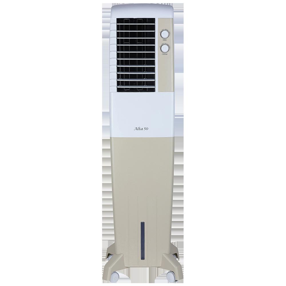 Kenstar Alta 50 Litres Tower Air Cooler (Inverter Compatible, KCLALTGY050BMH-ELM, Golden Yellow)_1