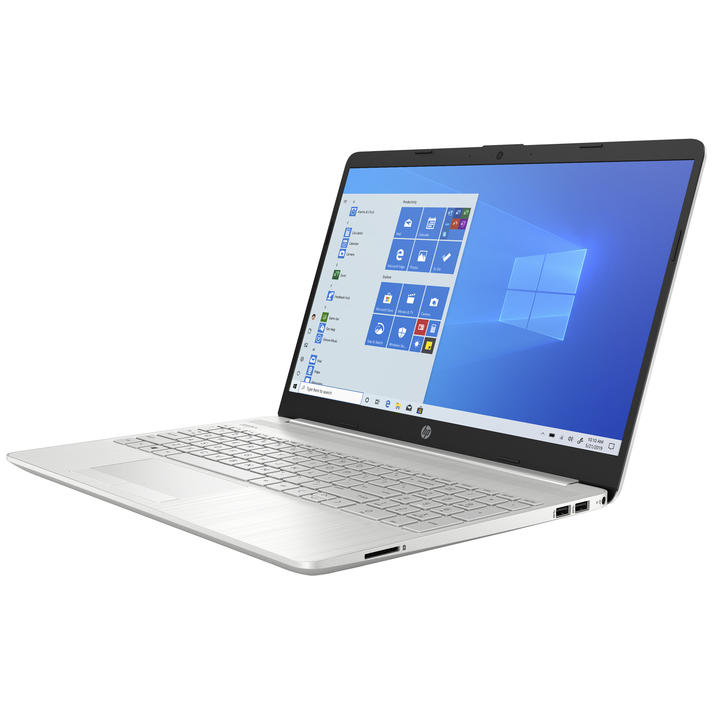 HP 15s-dr3001TU (34W43PA#ACJ) Core i3 11th Gen Windows 10 Home Thin and Light Laptop (8GB RAM, 1TB HDD, Intel UHD Graphics, 39.6cm, Natural Silver) 3