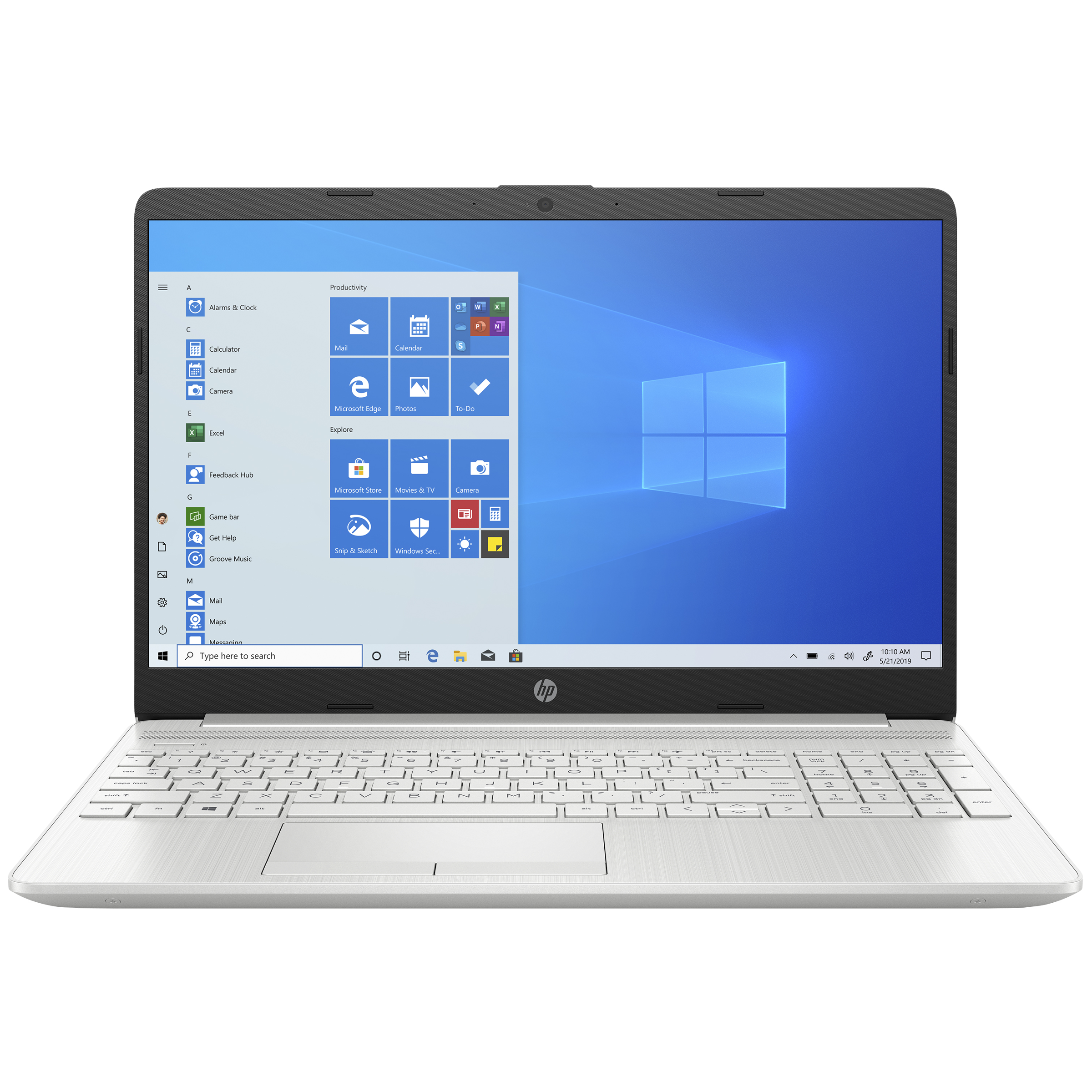 HP 15s-dr3001TU (34W43PA#ACJ) Core i3 11th Gen Windows 10 Home Thin and Light Laptop (8GB RAM, 1TB HDD, Intel UHD Graphics, 39.6cm, Natural Silver)_1
