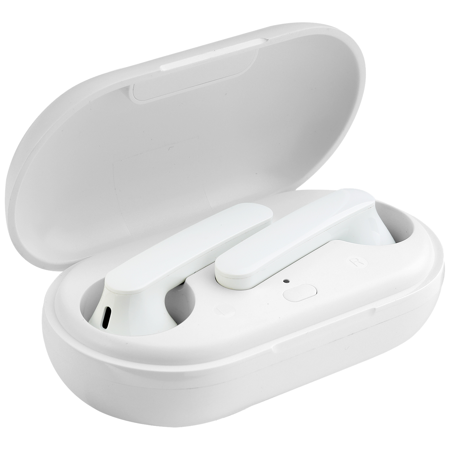 Lumiford Maximus In-Ear Passive Noise Cancellation Truly Wireless Earbuds with Mic (Bluetooth 5.0, Stereo Sound, T85, White)_1