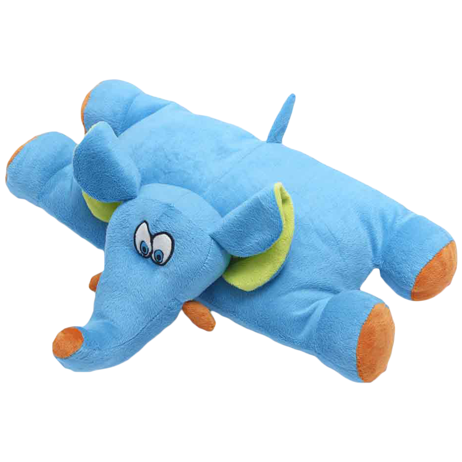 Travel Blue Trunky The Elephant Polyester Neck Pillow (Soft and Comfortable, Multicolor)_3