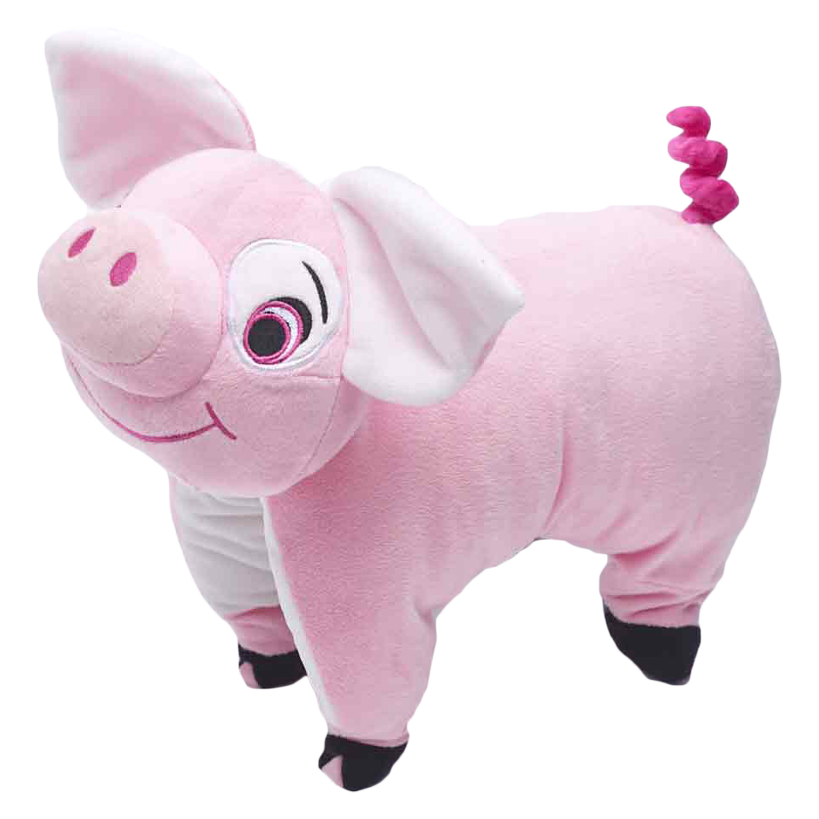 Travel Blue Pinky The Pig Polyester Neck Pillow (Soft and Comfortable, Multicolor)_1