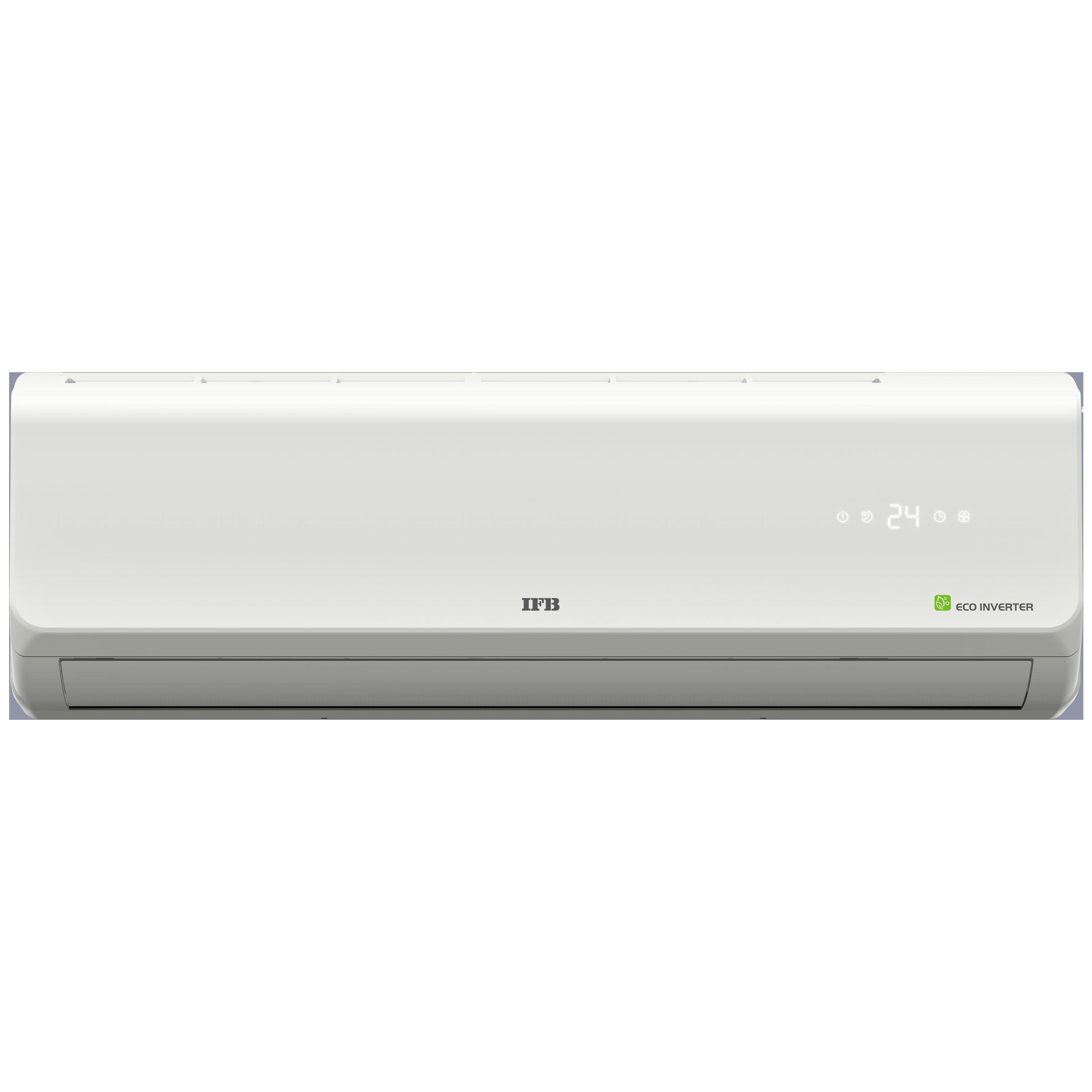 IFB Silver 1 Ton 3 Star Inverter Split AC (Copper Condenser, IACI12SA3G3C, White)_1