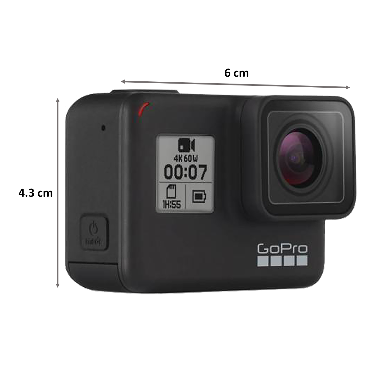 GoPro Hero 7 12 MP Action Camera With Holiday Bundle Pack (CHDRB-70, Black)_2