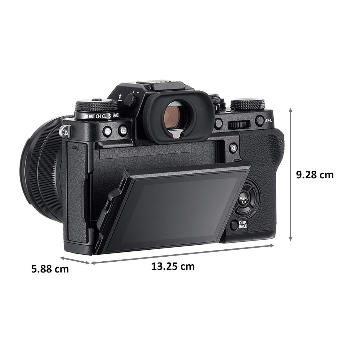 Fujifilm X-T3 26.1MP Mirrorless Camera (Built-in Lens, Color Chrome Effect, 16643385, Black)_2