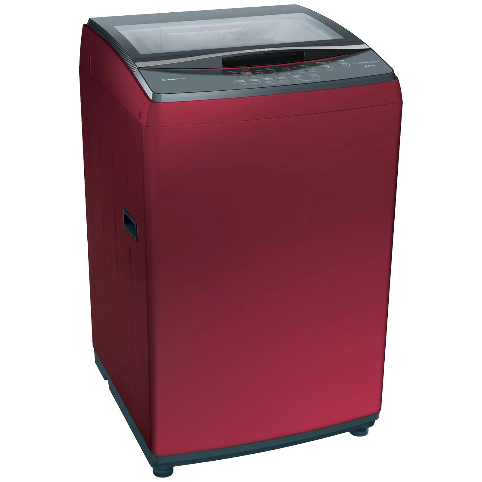Bosch Serie 4 8.5 kg 5 Star Fully Automatic Top Load Washing Machine (Multiple Water Protection, WOE854C1IN, Metallic Red)_1
