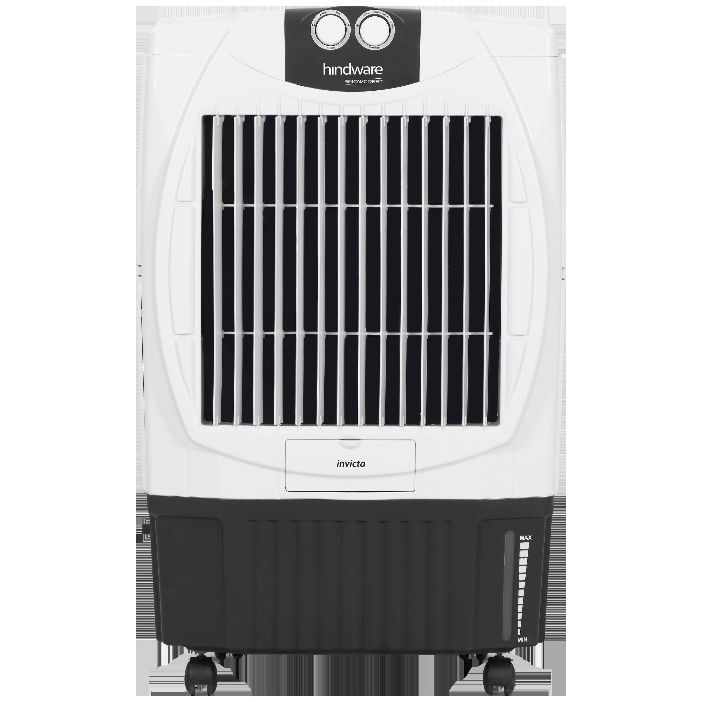Hindware Snowcrest 50 Litres Desert Air Cooler (Inverter Compatible, CD-165001WBR, White)_1