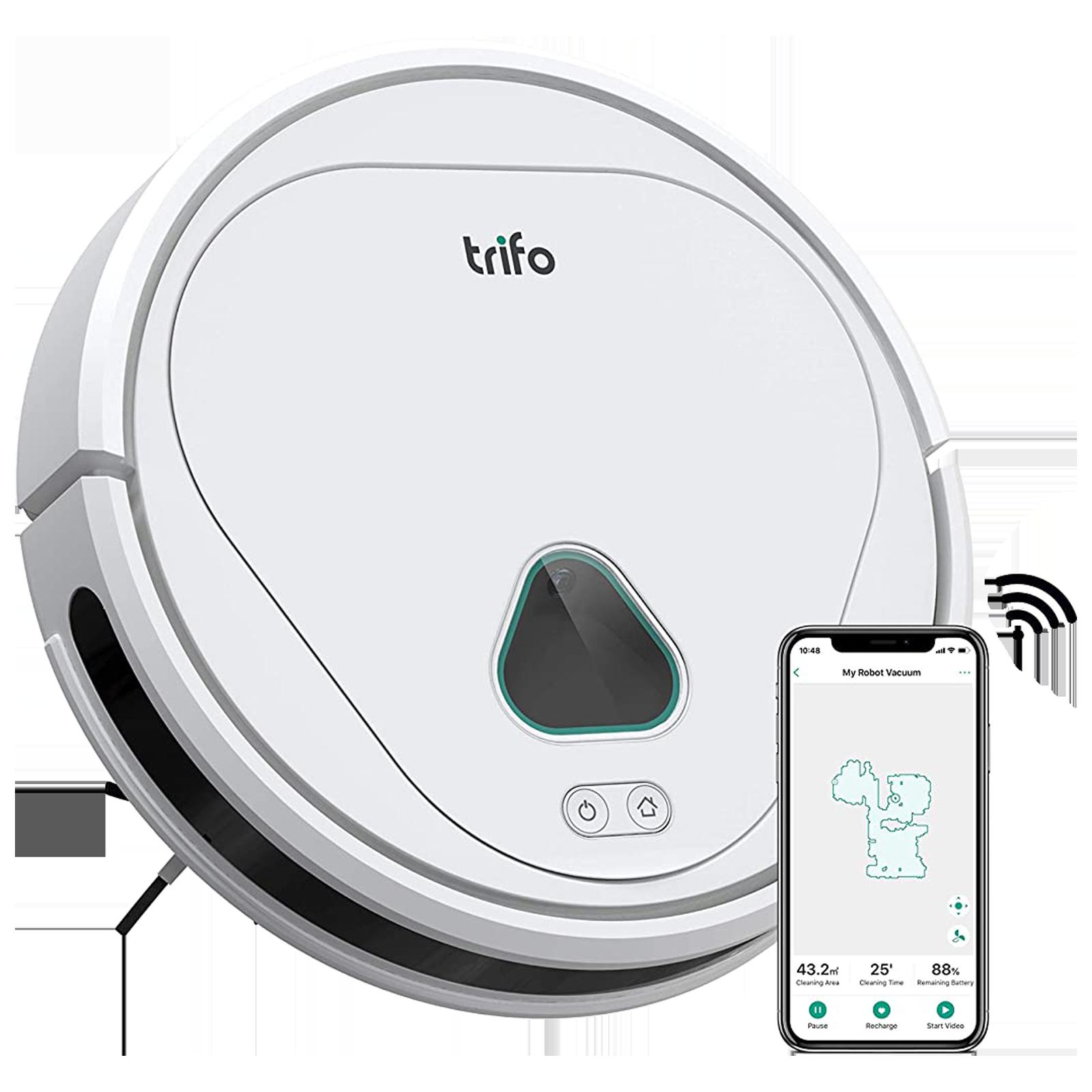 Trifo Max-S 40 Watts Robotic Vacuum Cleaner (0.6 Litres Tank, FBA73778, White)_1