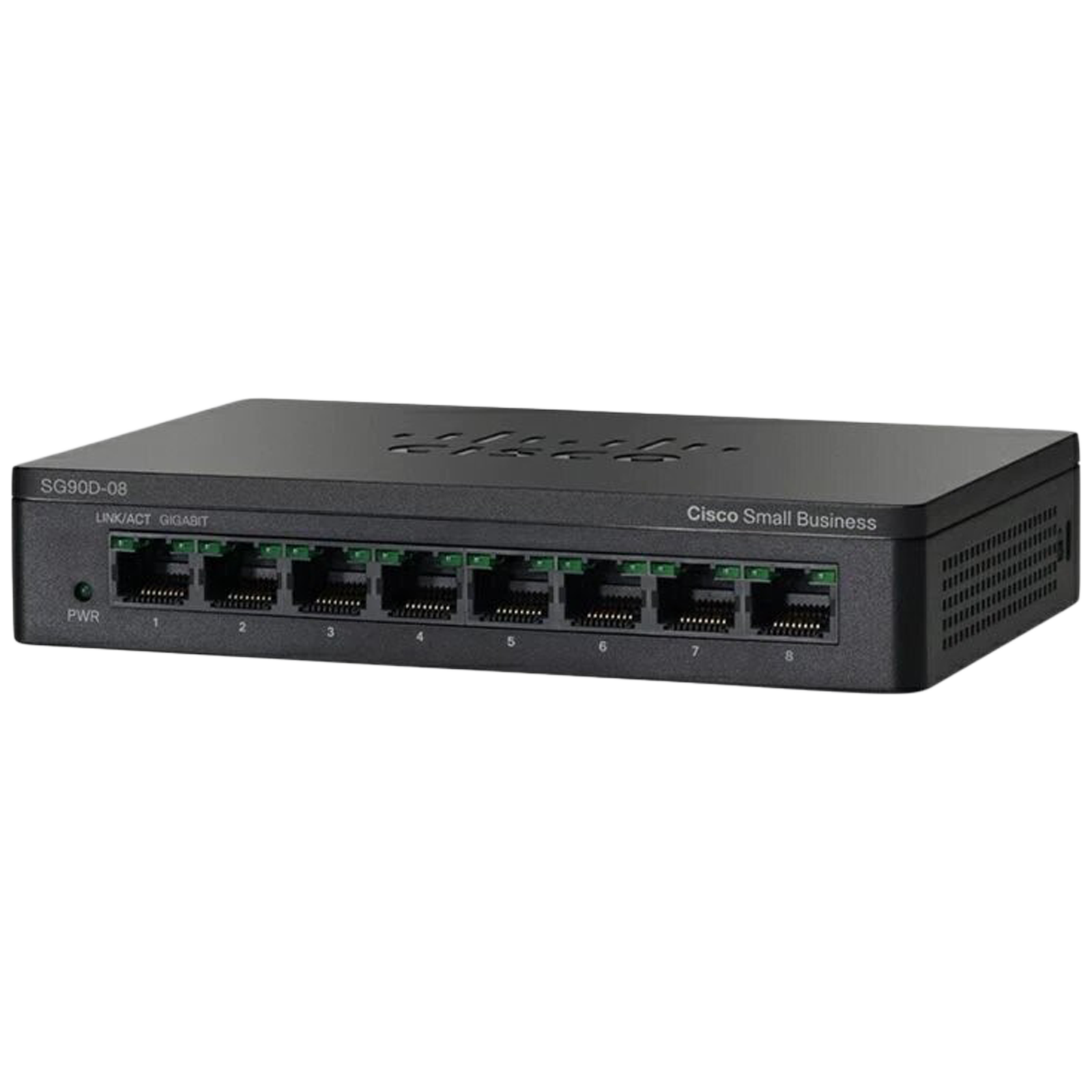Cisco 8 Ports Unmanaged Switch (No Antennas, Loop Detection, SG95D-08-IN, Black)_1
