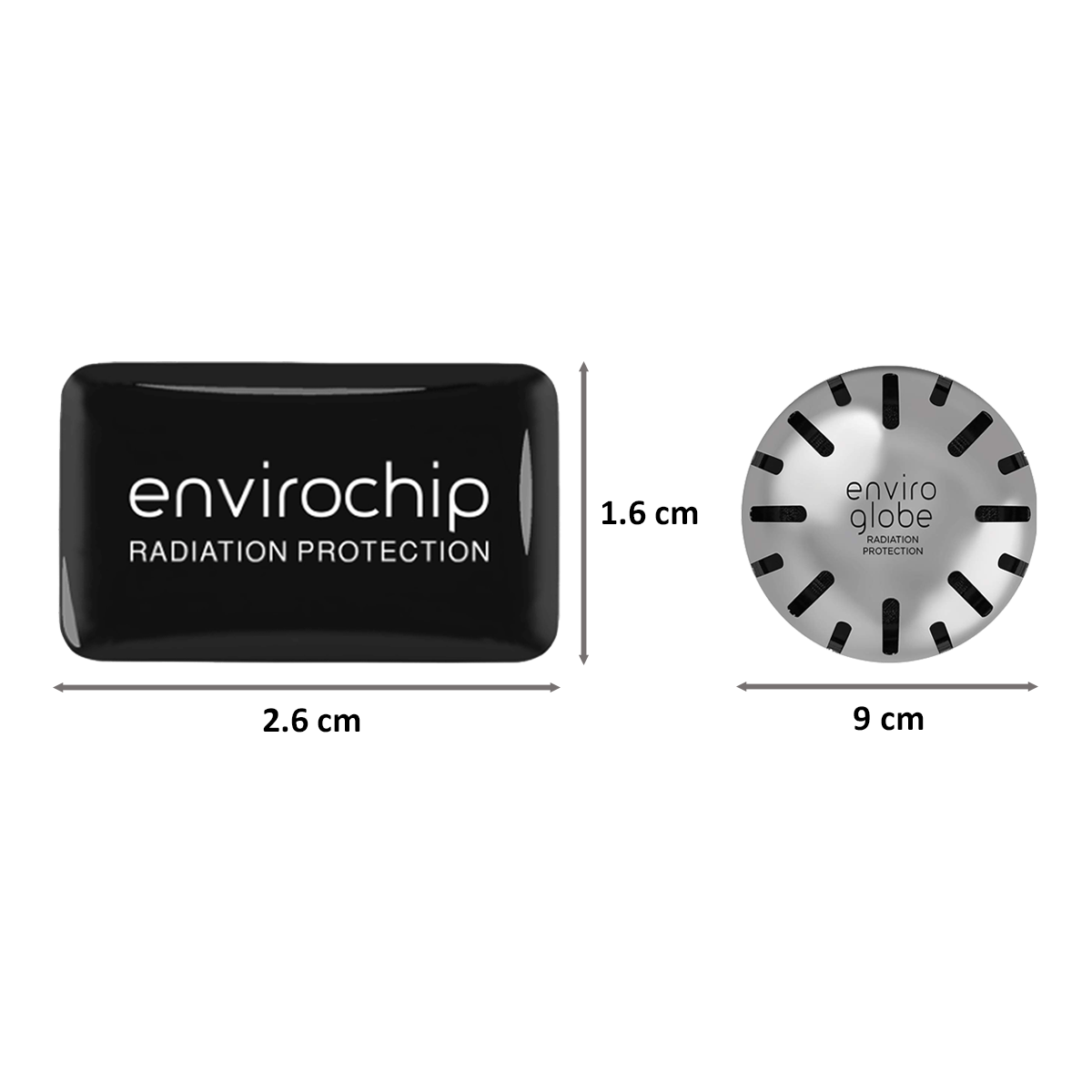 Environics Anti Radiation Chip and Ball Combo Pack of 3 for Home and Mobile Phones (122CGTP, Black/Silver)_2