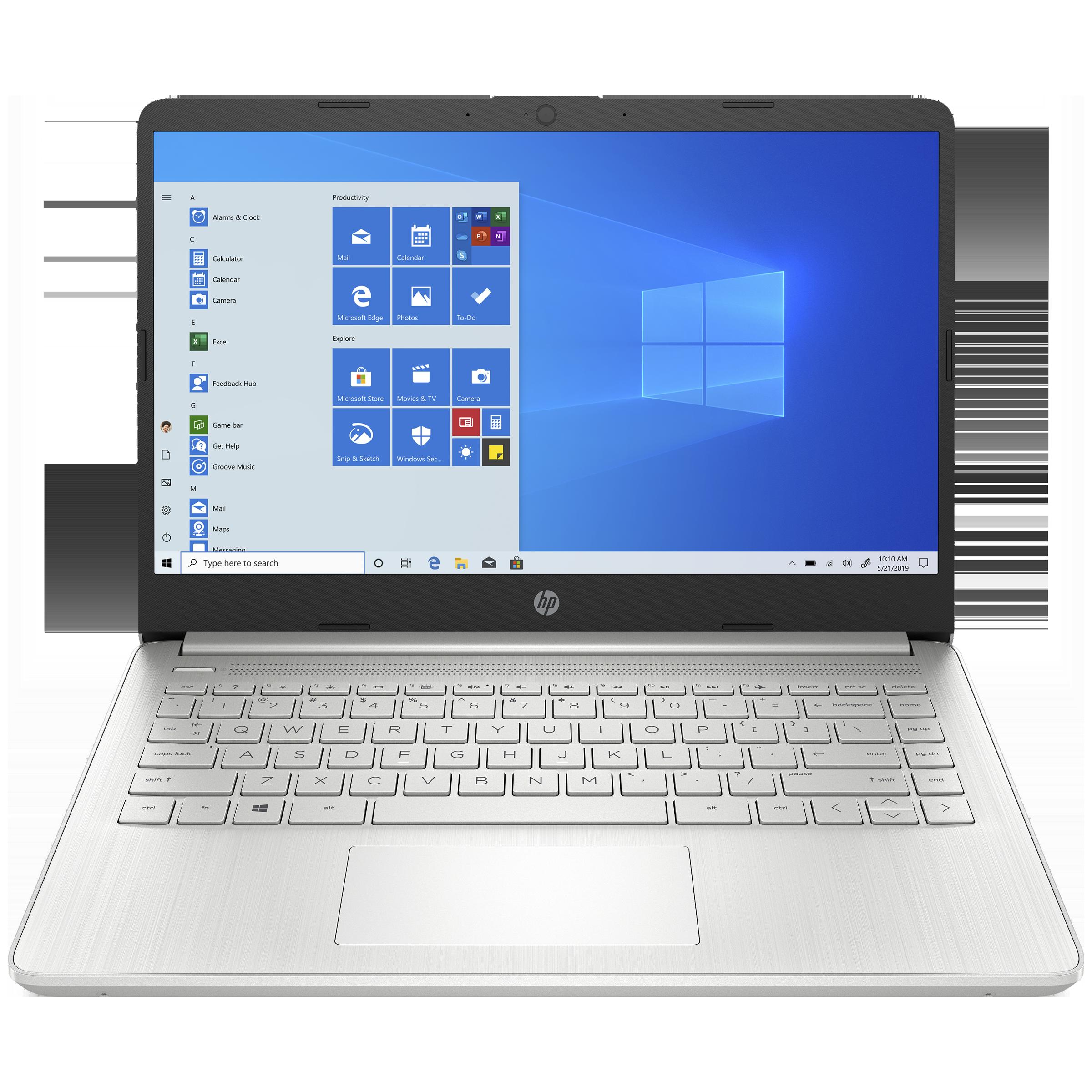 HP 14s-dq2101TU (38Z17PA#ACJ) Core i3 11th Gen Windows 10 Home Laptop (8GB RAM, 256GB SSD, Intel UHD Graphics, MS Office, 35.56cm, Natural Silver)_1