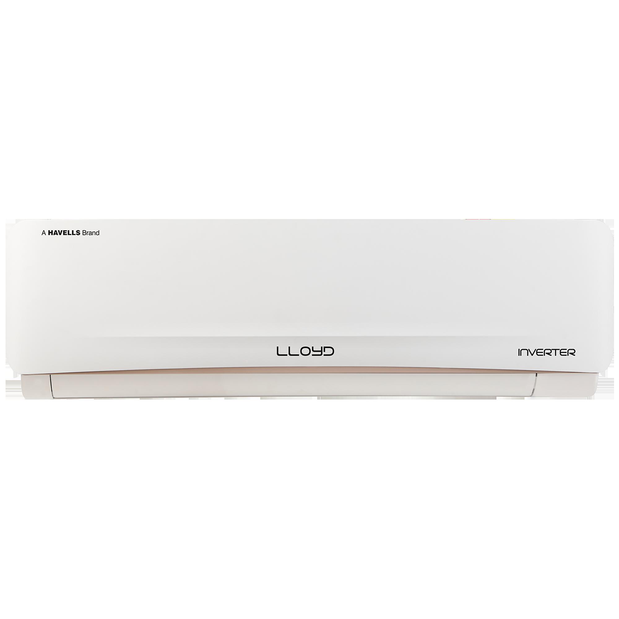 Lloyd WBEL 2 Ton 5 Star Inverter Split AC (Copper Condenser, GLS24I56WBEL, White)_1