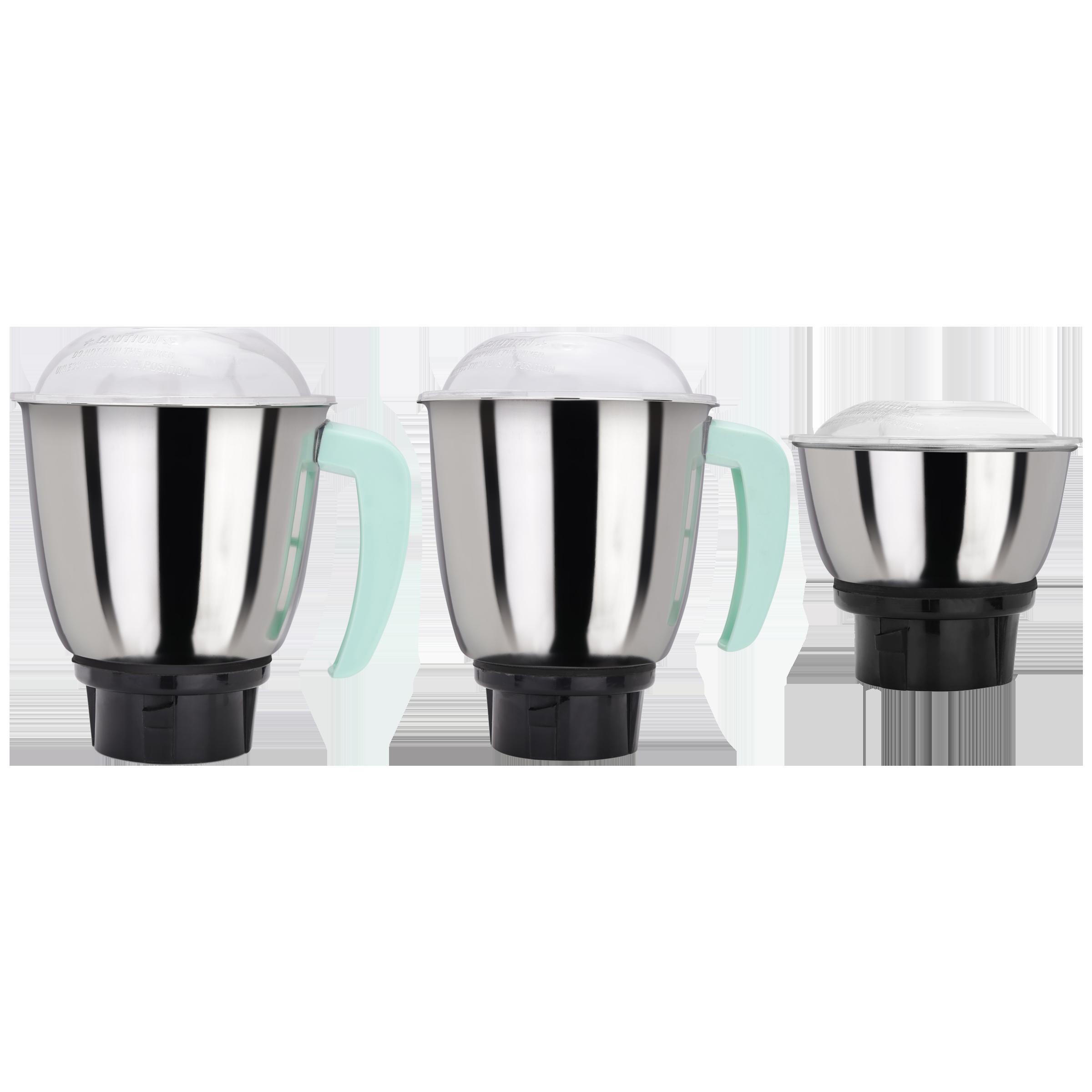 Croma Jars For Juicers Mixers Grinders (Accessories, CRAK4183, Silver)_1