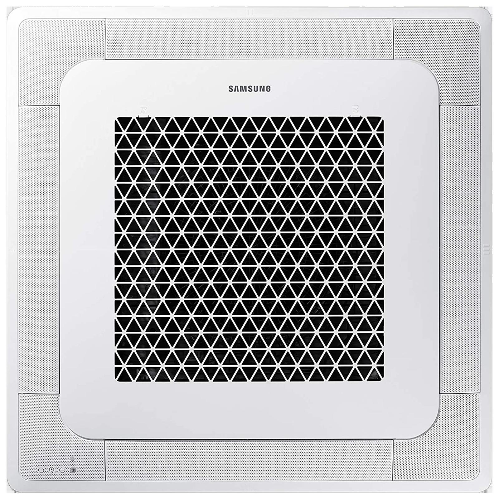 Samsung 4 Way Cassette 3 Ton Inverter Cassette AC (Wi-Fi AC, Copper Condenser, AC100NN4DKC/TL, White)_1