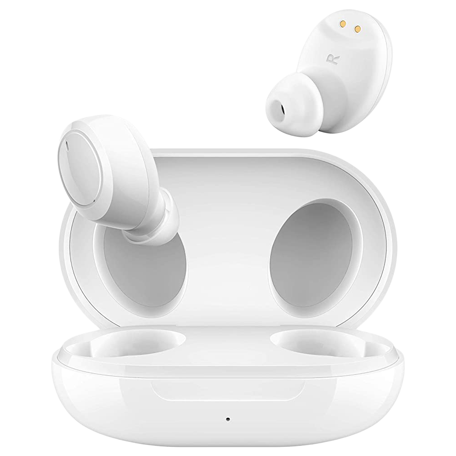 Oppo Enco W11 In-Ear Active Noise Cancellation Truly Wireless Earbuds with Mic (Bluetooth 5.0, Dust and Water Resistance, ETI41, White)_1