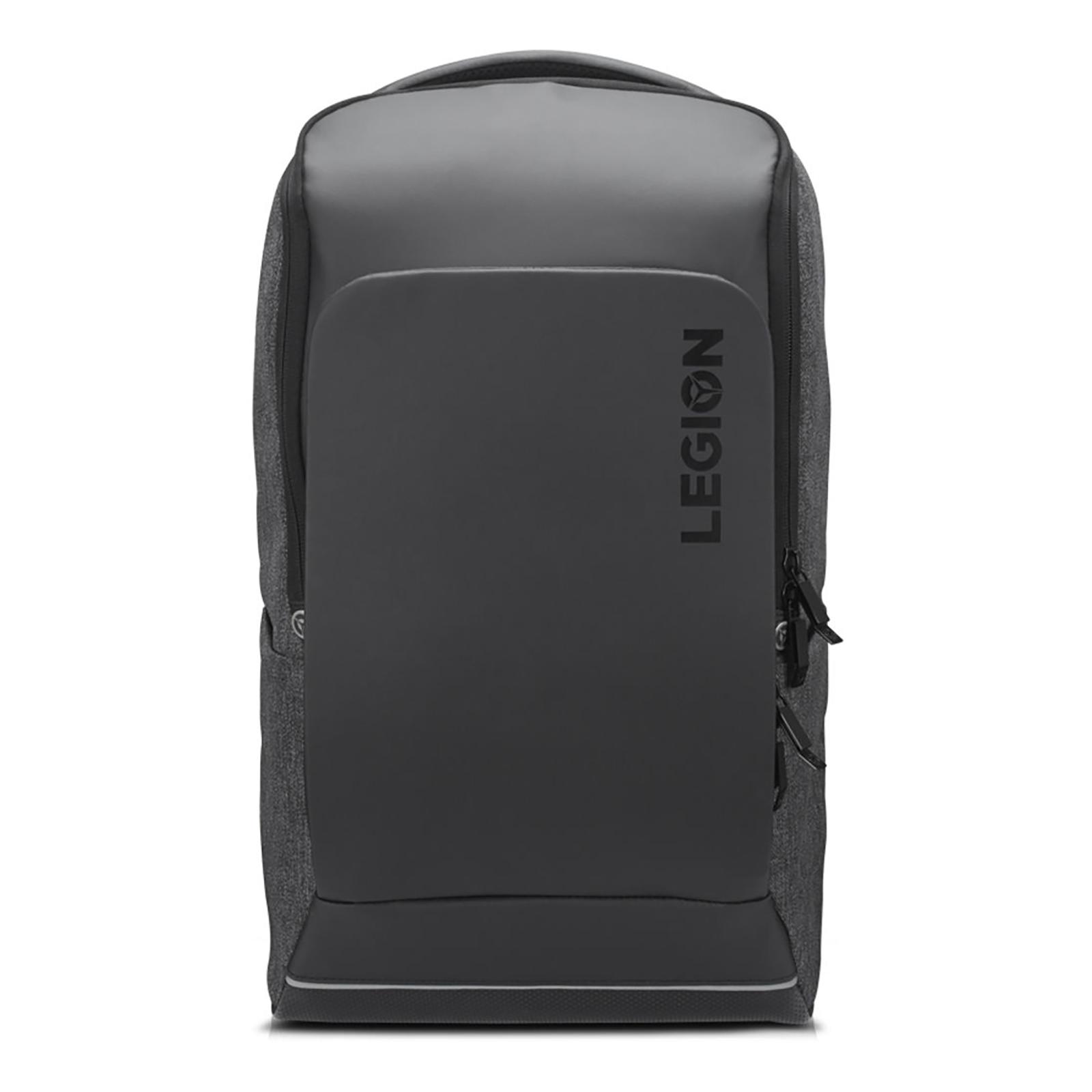Lenovo Legion Recon Polyester Backpack for 15.6 Inch Laptop (Adjustable Shoulder Strap, GX40S69333, Black)_1